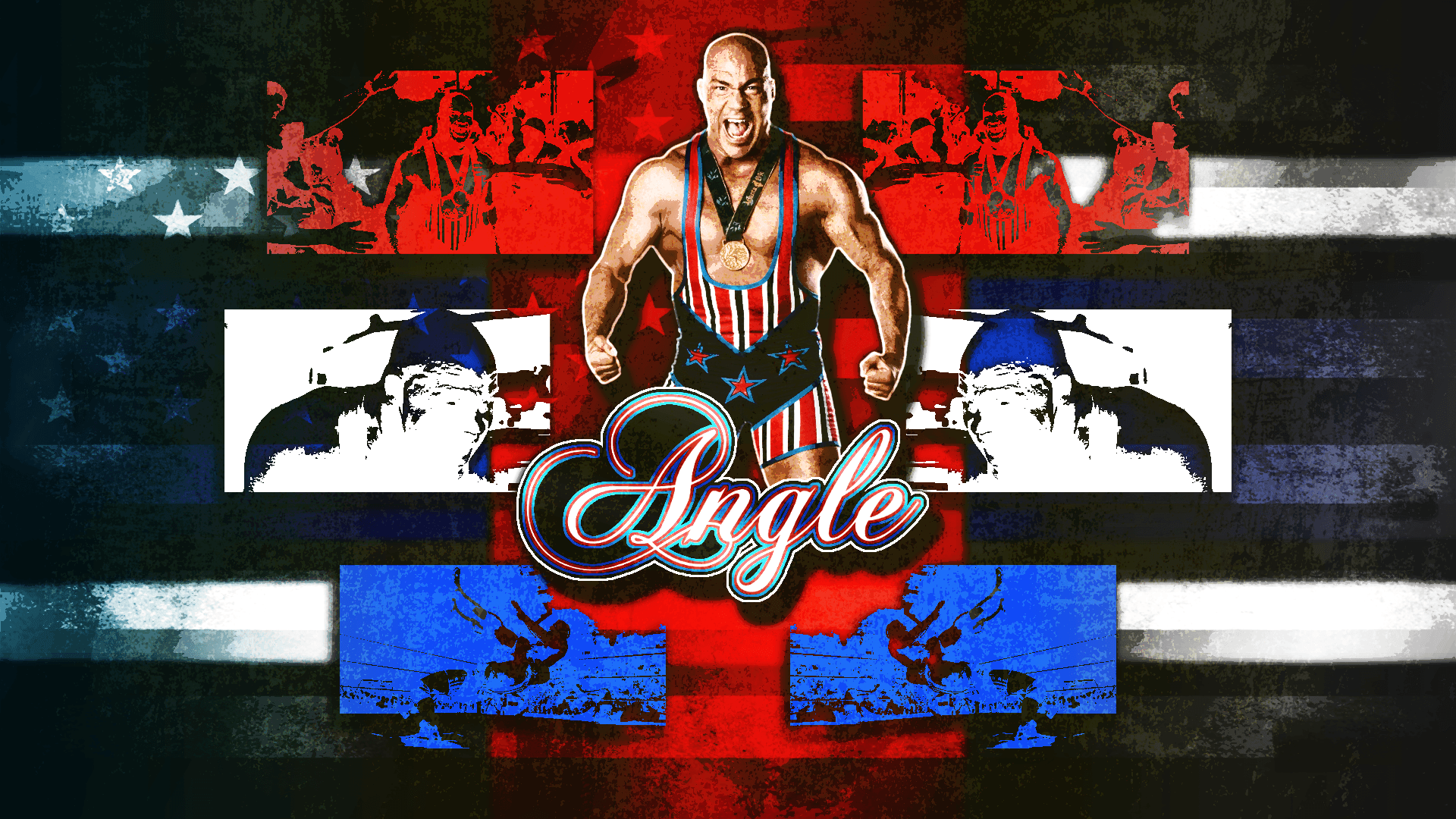 Kurt Angle Wallpaper (1080p) by DarkVoidPictures on DeviantArt