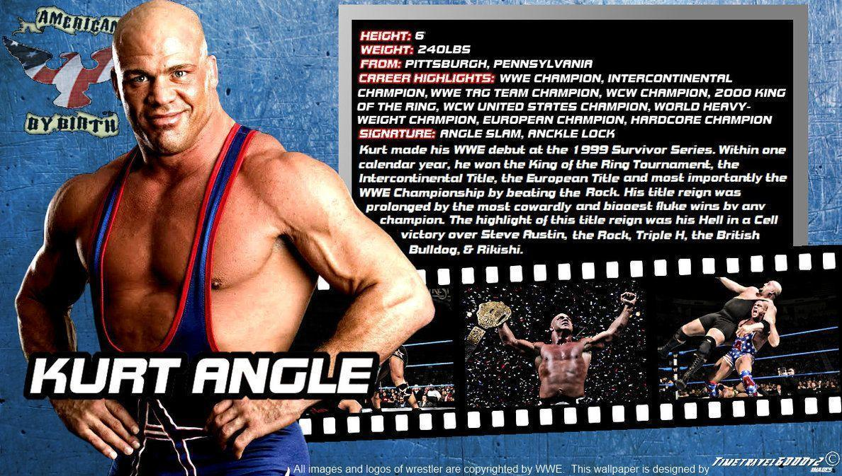 WWE Kurt Angle ID Wallpaper Widescreen by Timetravel6000v2 on ...