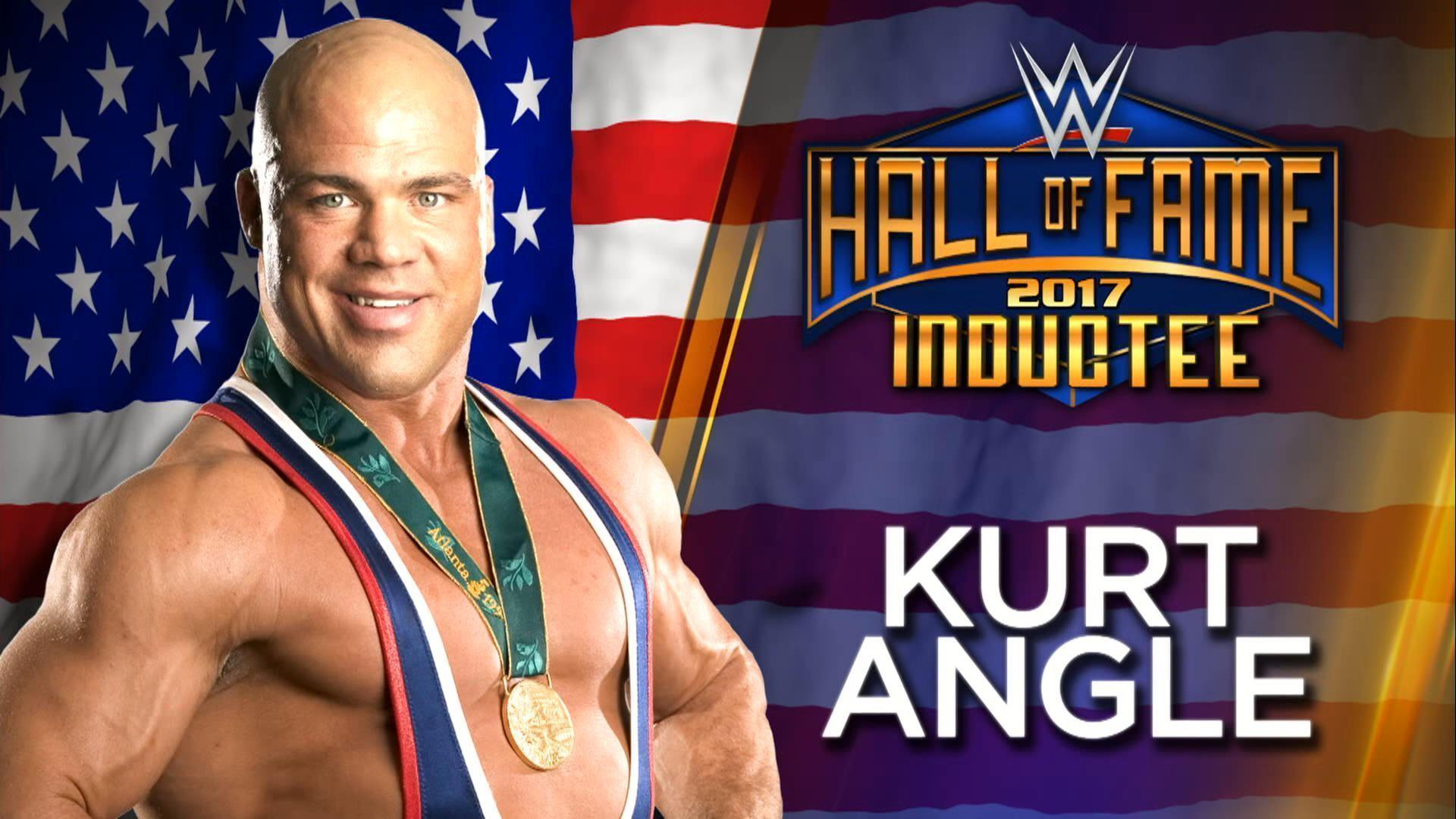 Kurt Angle On His Hall of Fame Inductor, New Legends Entering ...