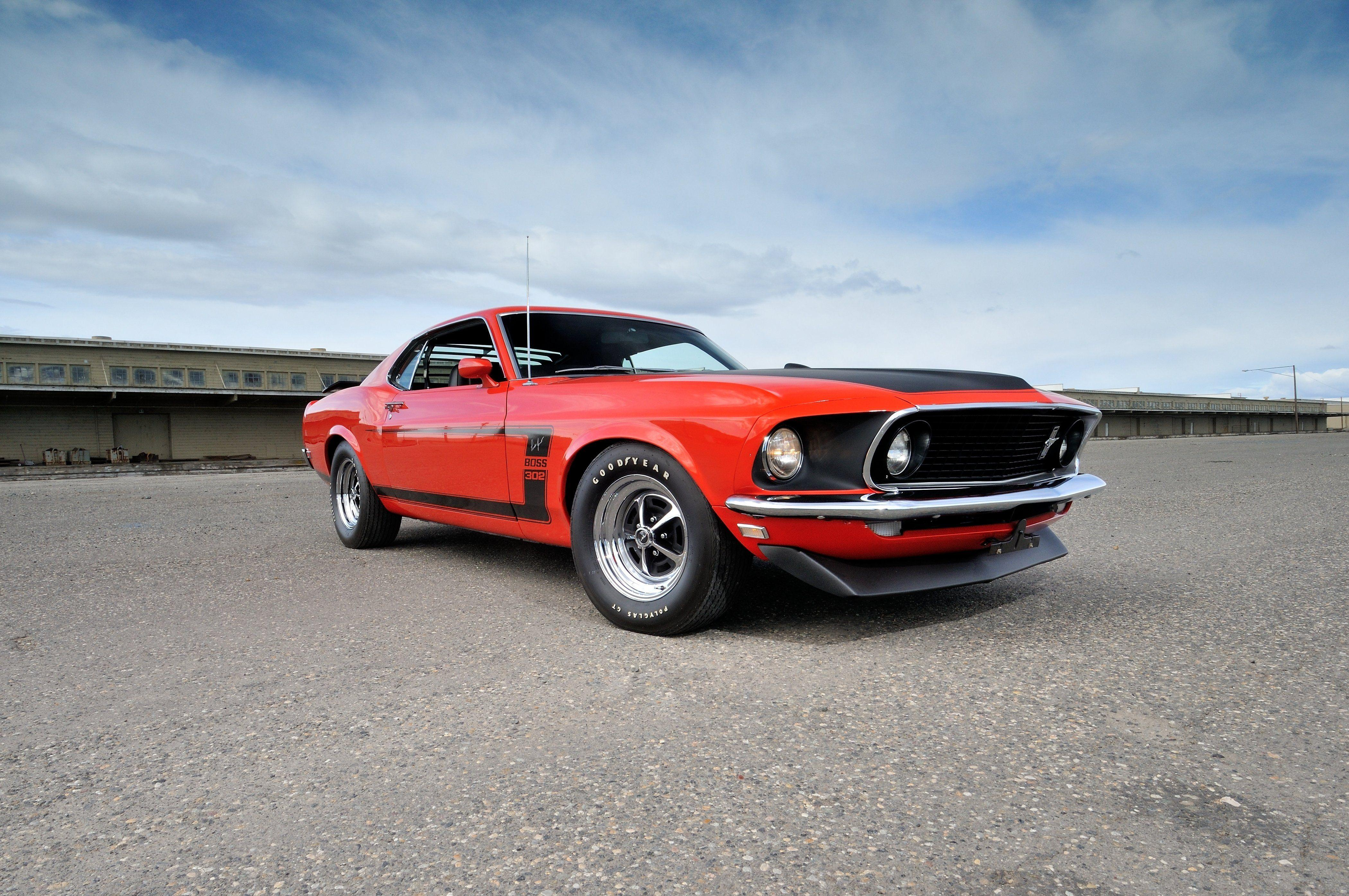 1969 Ford Mustang Boss 302 Wallpapers Gallery