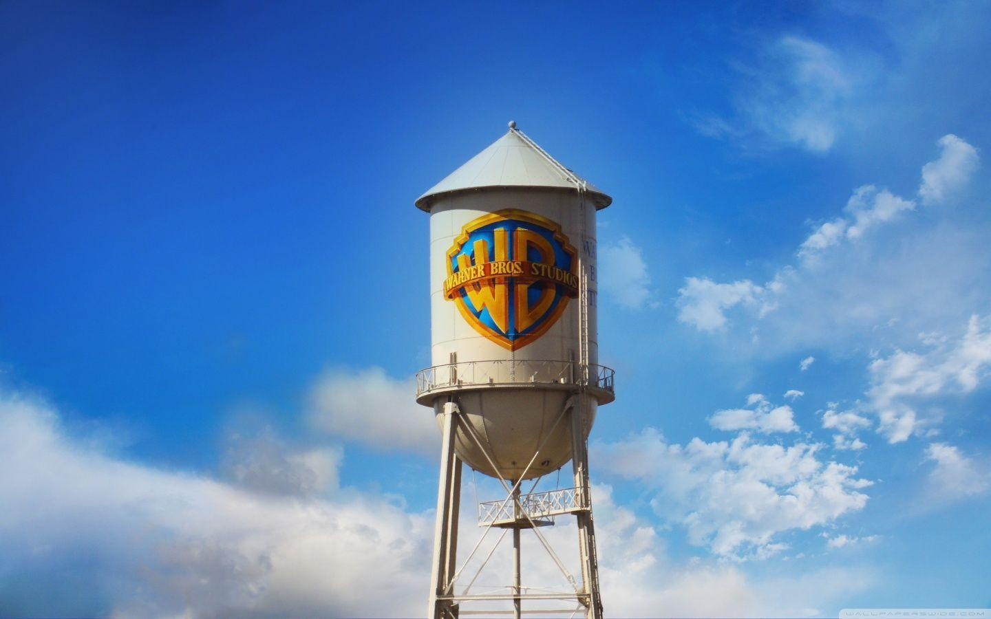 Warner Bros. Water Tower HD desktop wallpaper : High Definition .