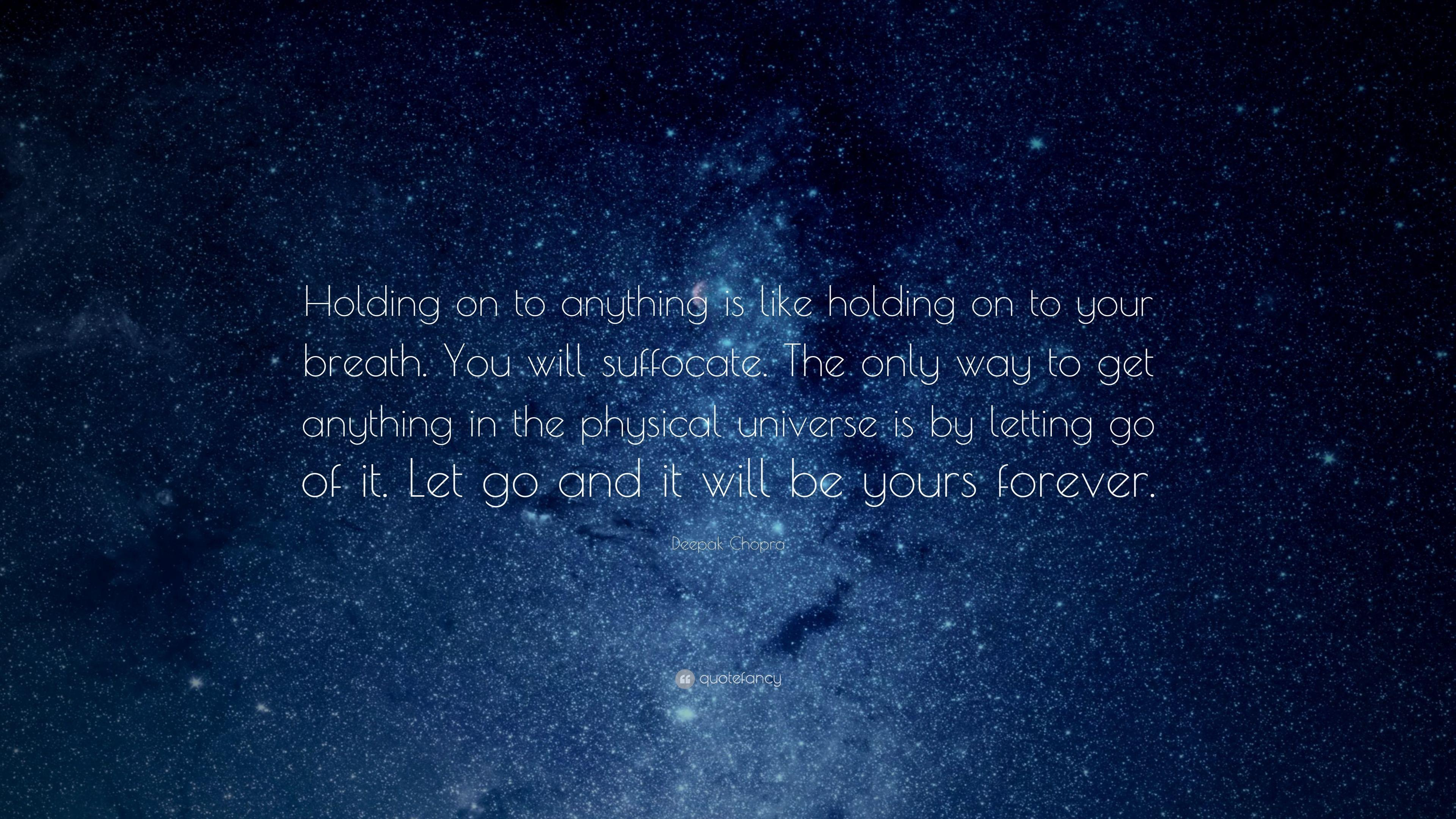 letting go and holding on Lyrics to 'holding on and letting go' by ross copperman is anybody out there / is anybody listening / does anybody really know / if it's the end of the.