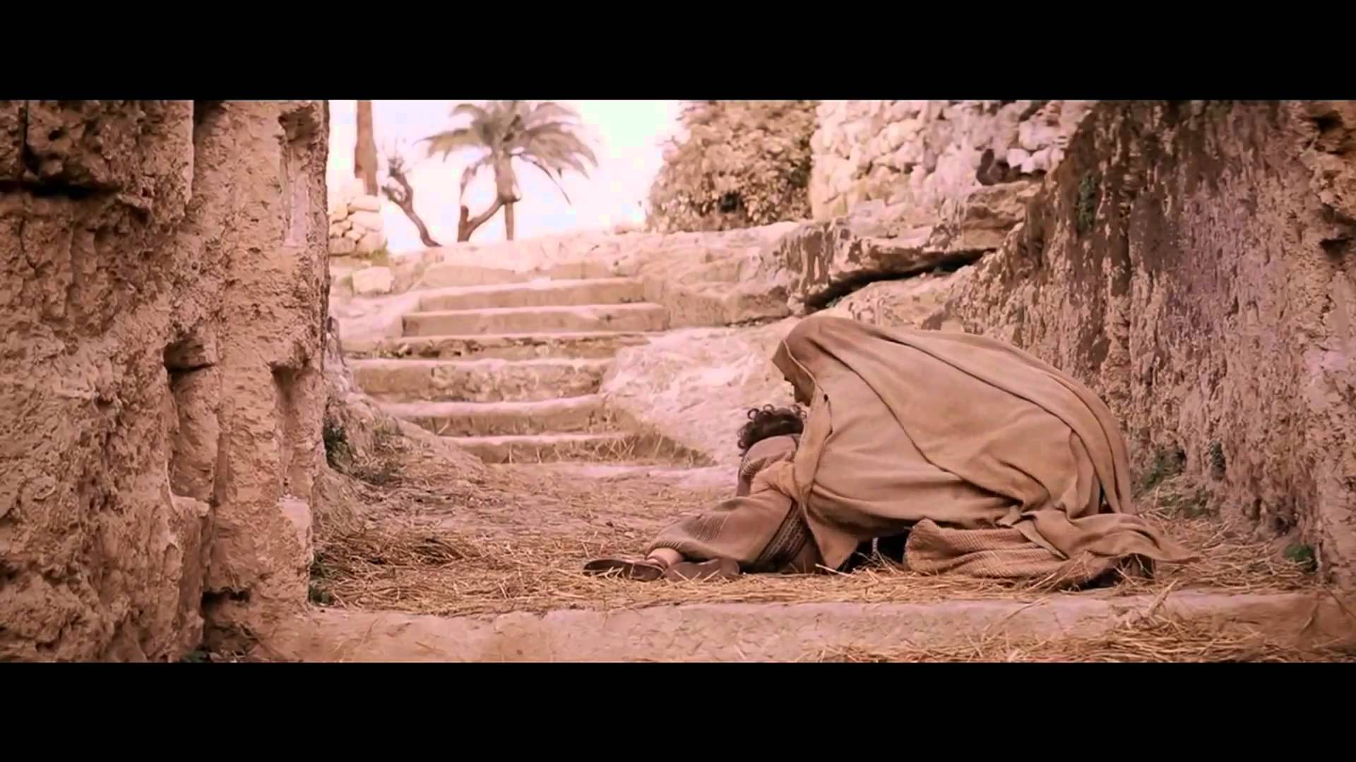 Christian movie: the passion of the christ scene wallpaper.