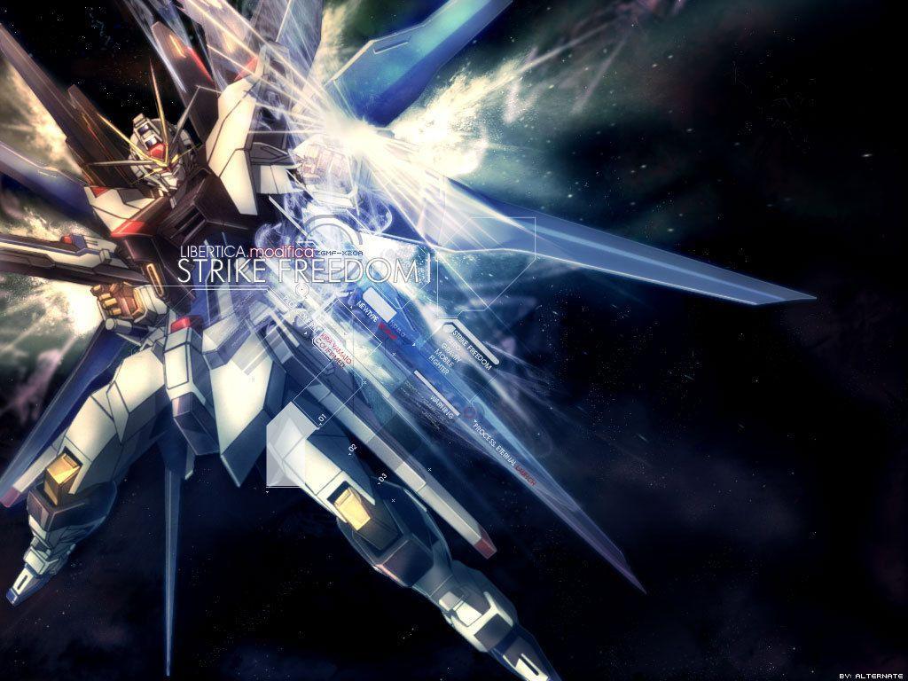 Strike Freedom Gundam Wallpaper