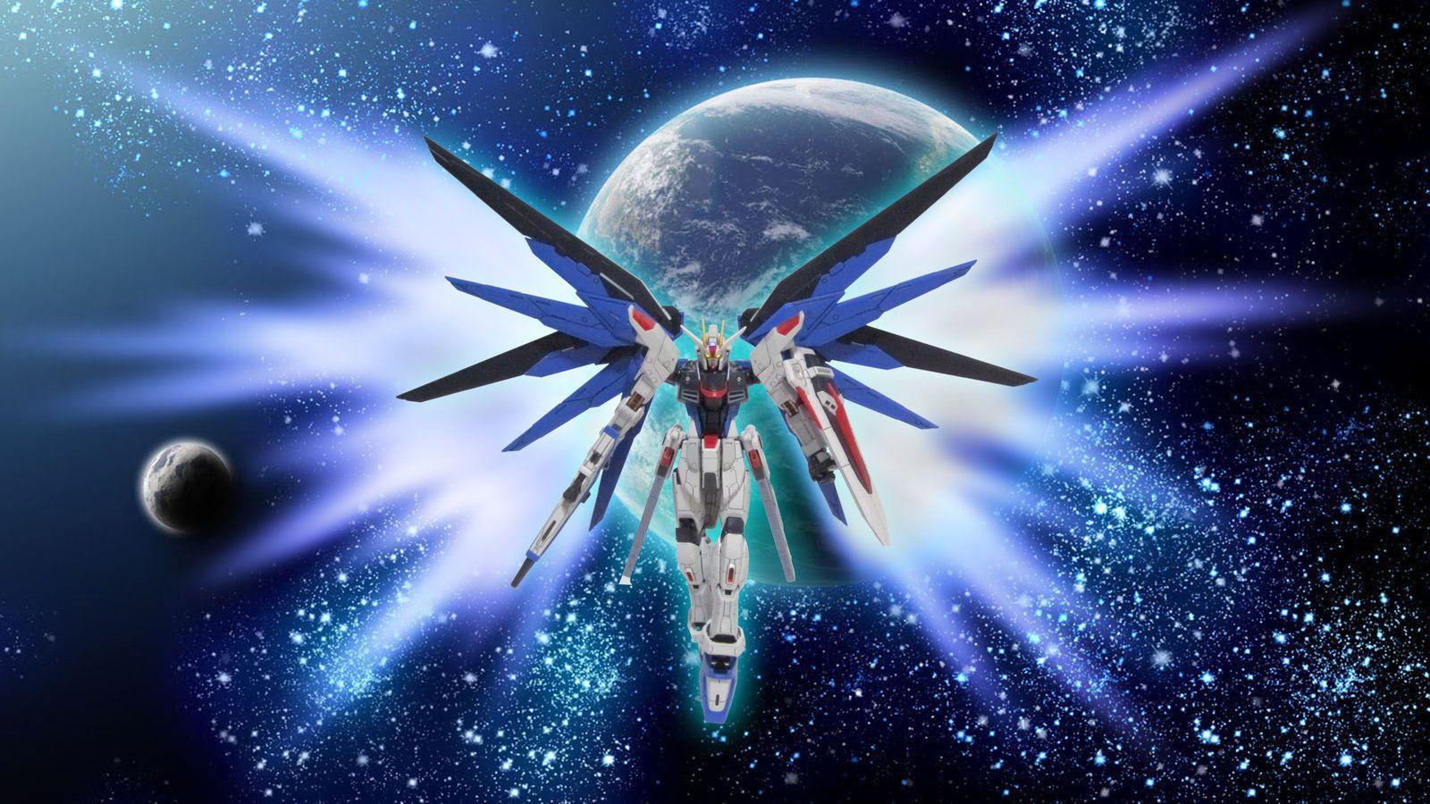 Gundam seed destiny wallpaper freedom