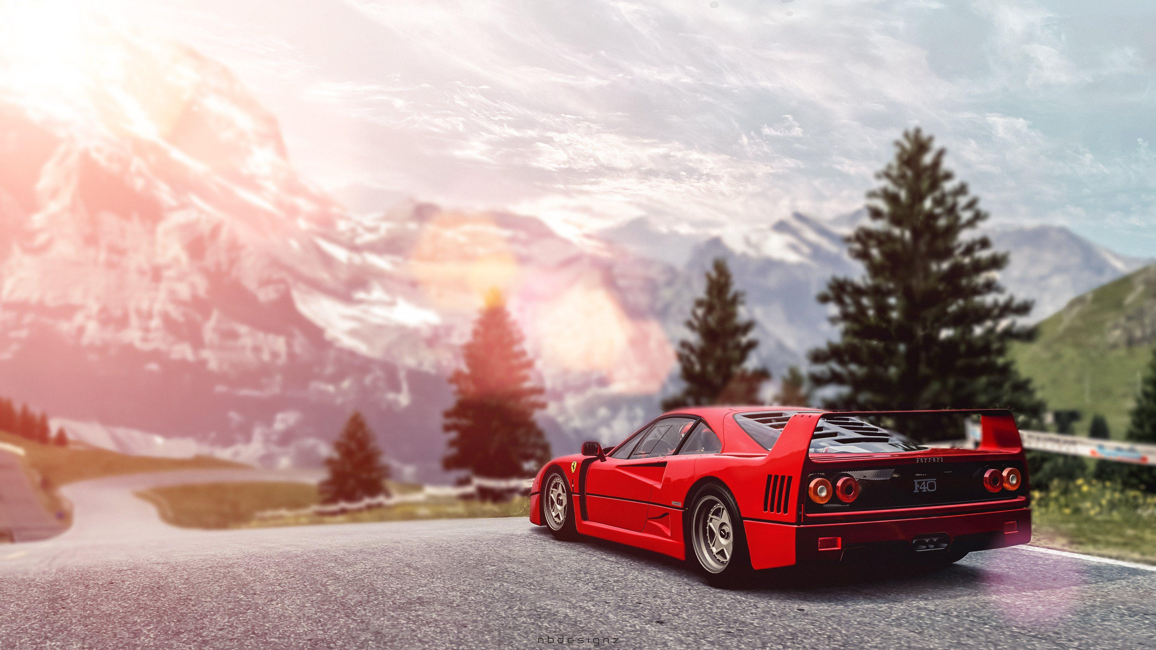 Ferrari F40 Wallpapers , Wallpaper Cave