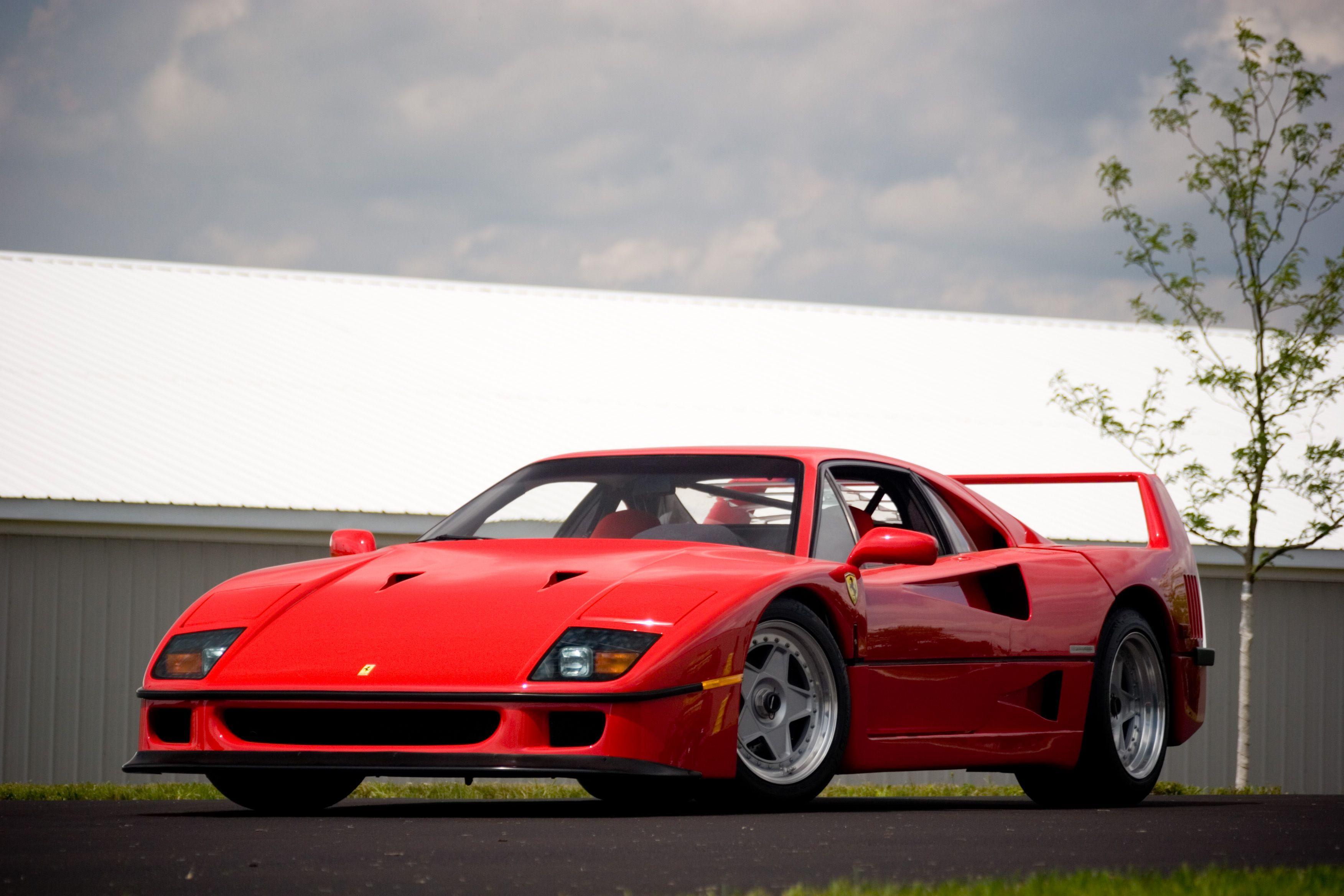 47+ Ferrari F4O Wallpaper  Gif