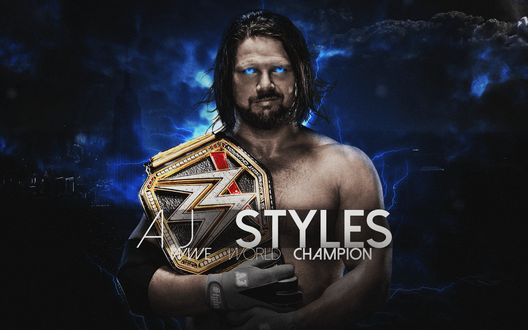 A J Styles 2017 Wallpapers Wallpaper Cave