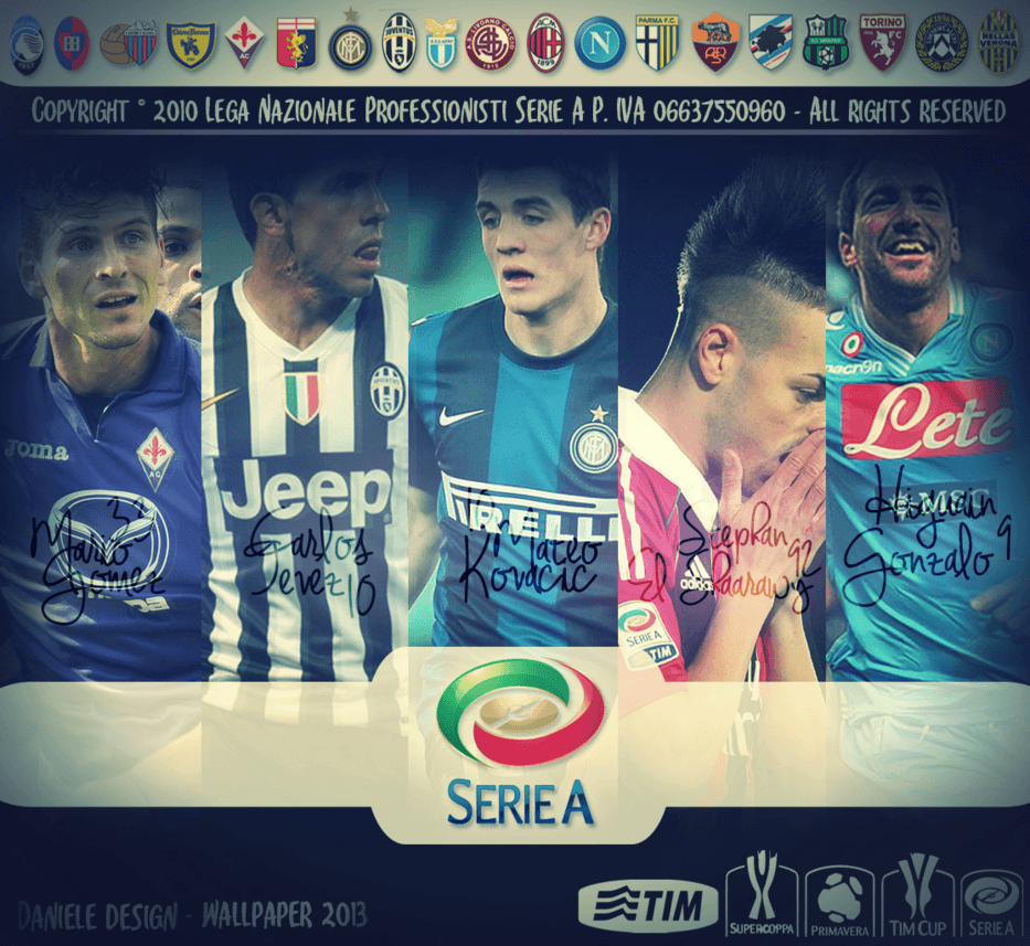 Wallpapers Serie A 2013 by daniele