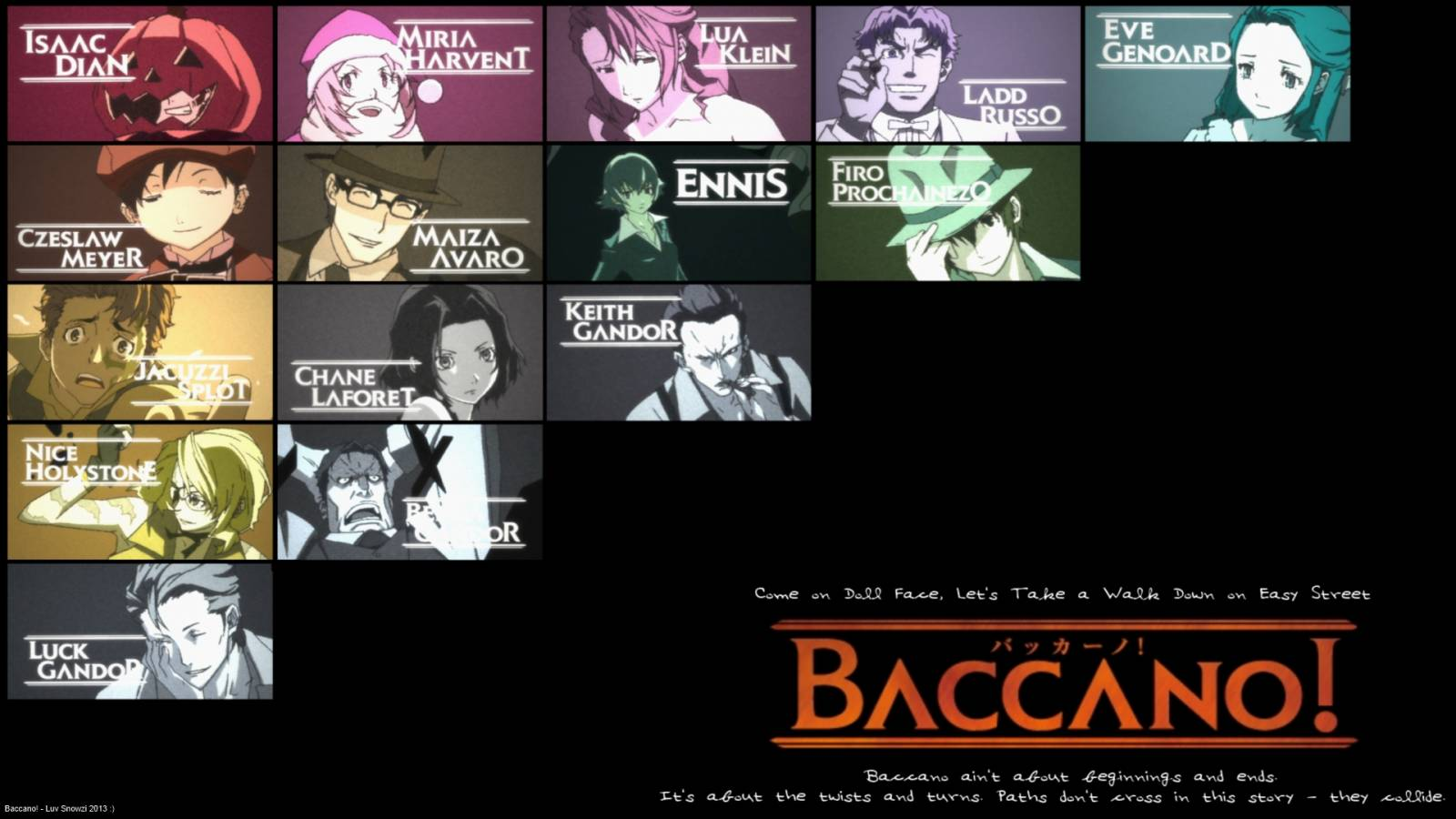 Baccano! Wallpapers - Wallpaper Cave