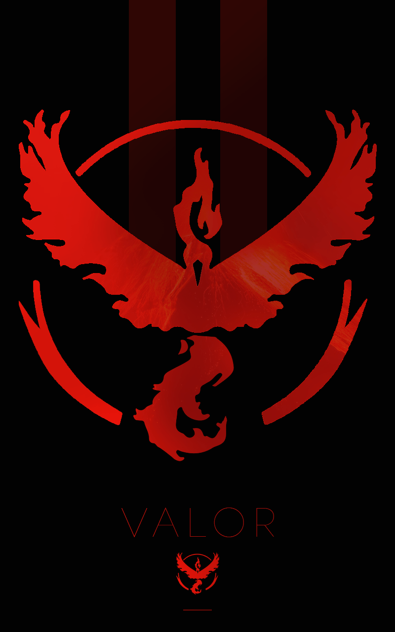 Team Valor phone wallpaper by Dougery on Imgur | random ...