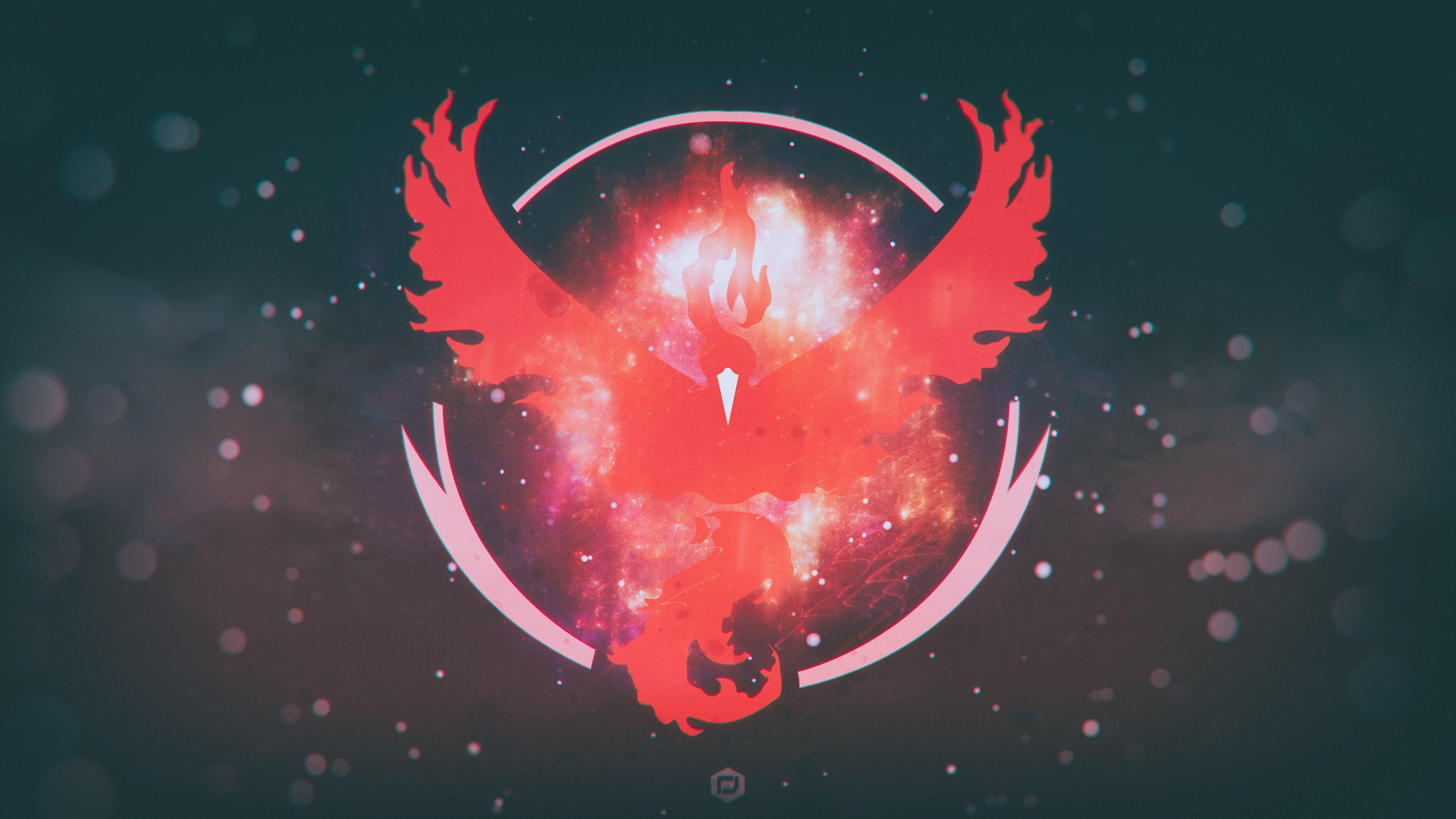 Pokemon Go Team Valor Team Red 4K Wallpapers | HD Wallpapers