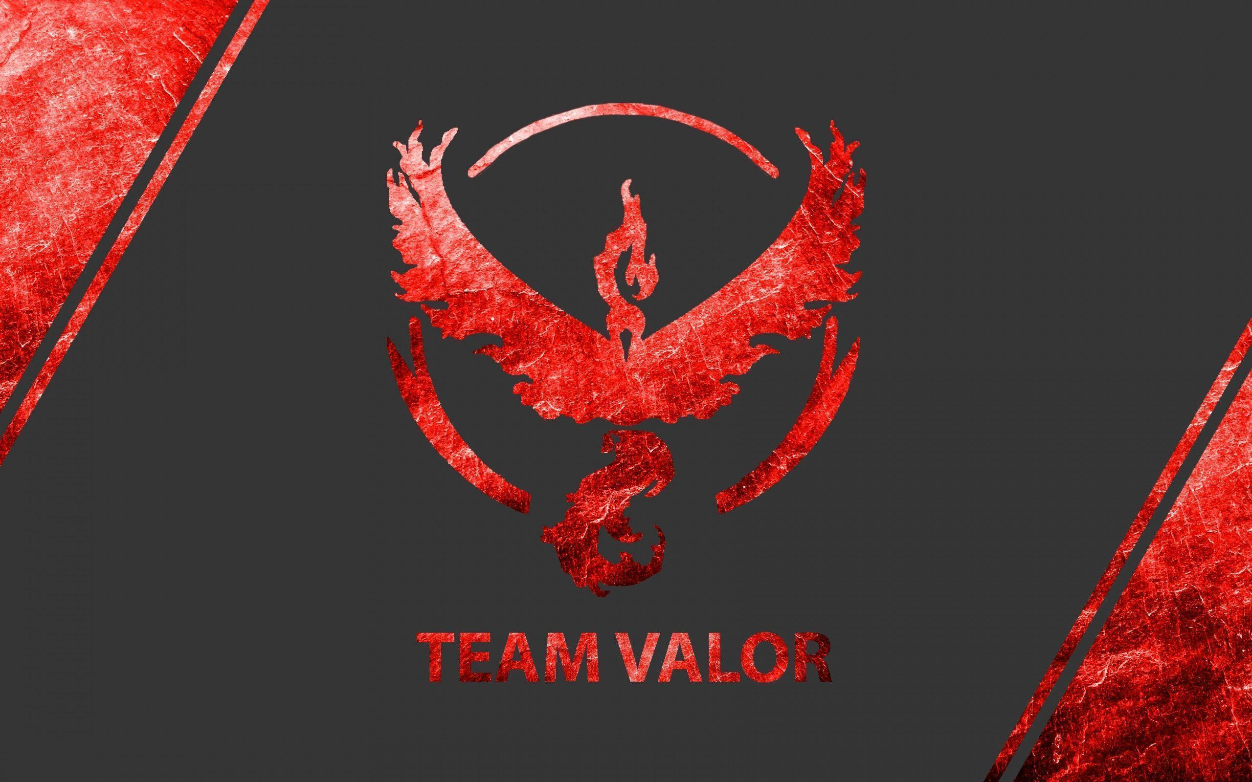 Wallpaper Pokemon Go, Team Valor, Team Red, 4K, Games, #1499