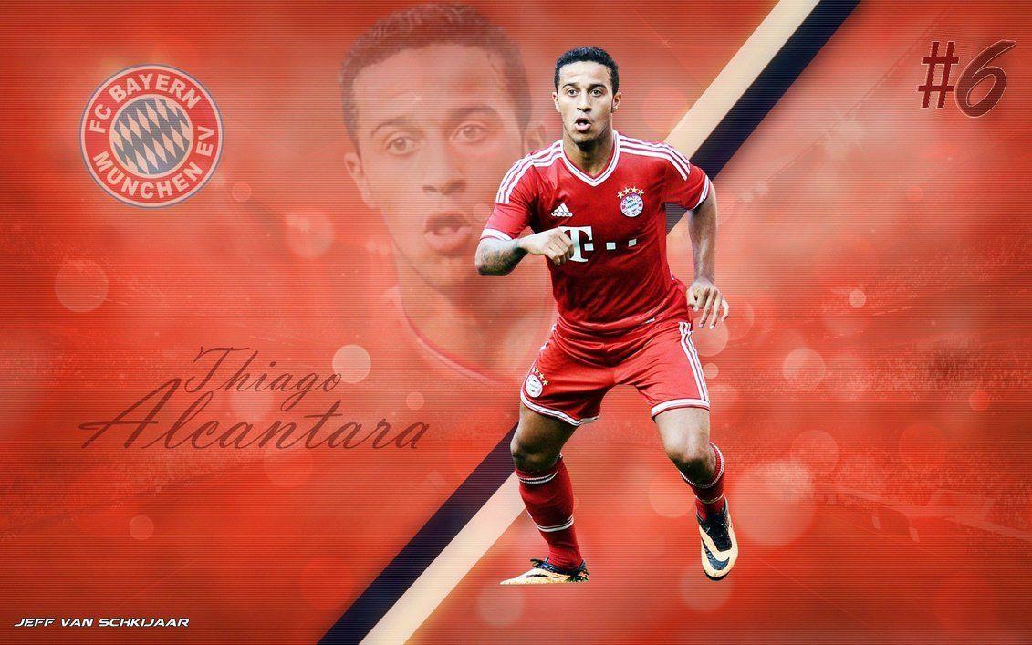 Thiago Alcantara Bayern Munich 2013-14 wallpaper by jeffery10 ...