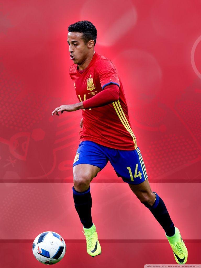 Euro 2016 - Thiago Alcantara HD desktop wallpaper : High ...