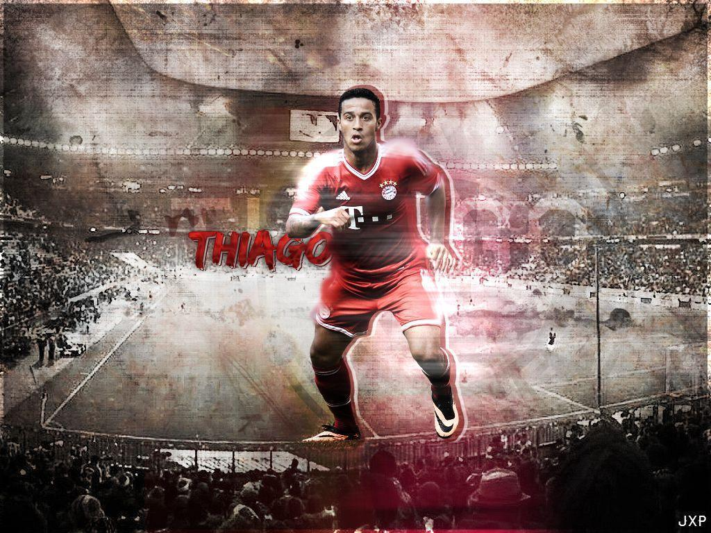 Thiago Alcantara Football Wallpaper