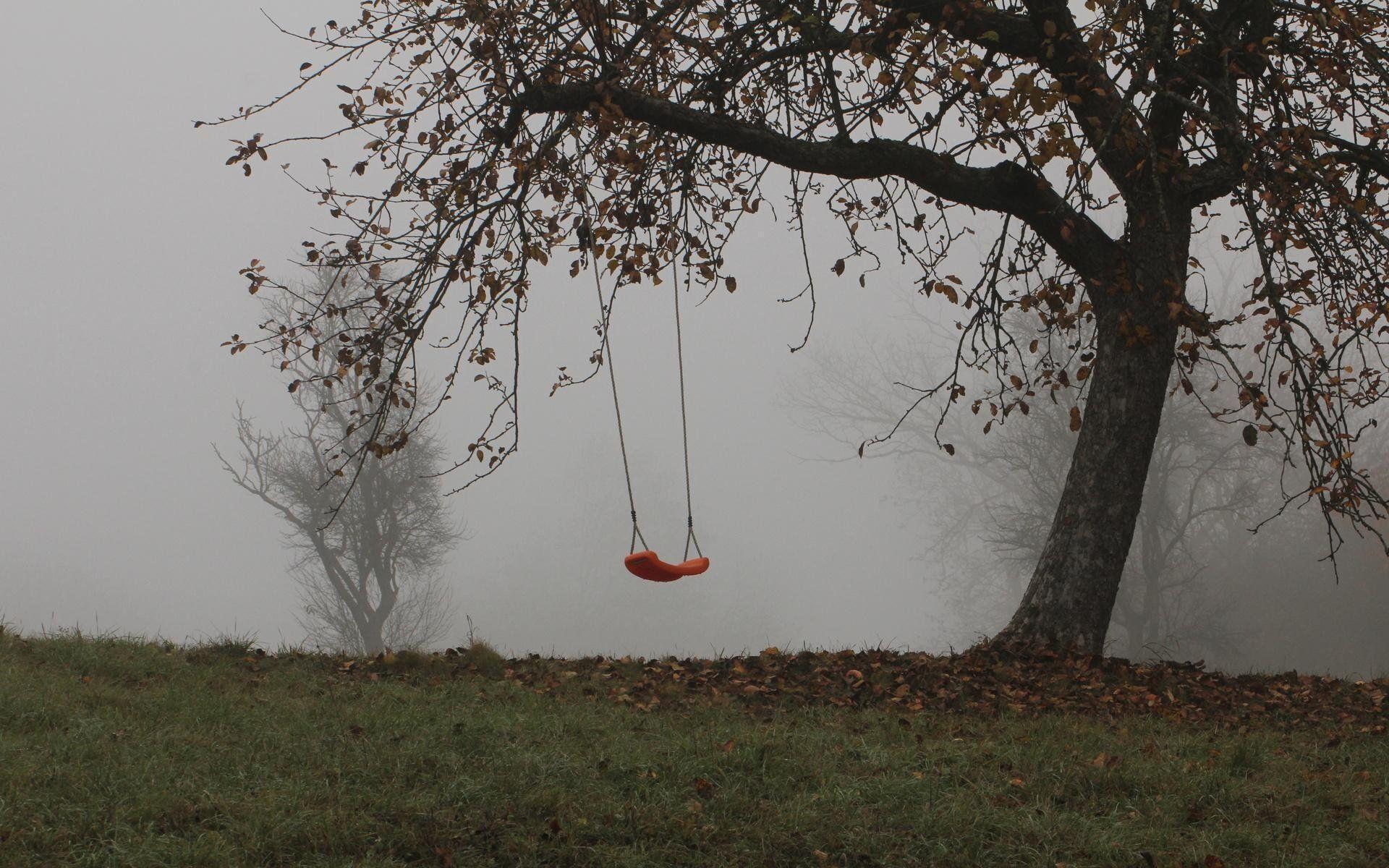 Empty Swings Wallpaper - WallDevil