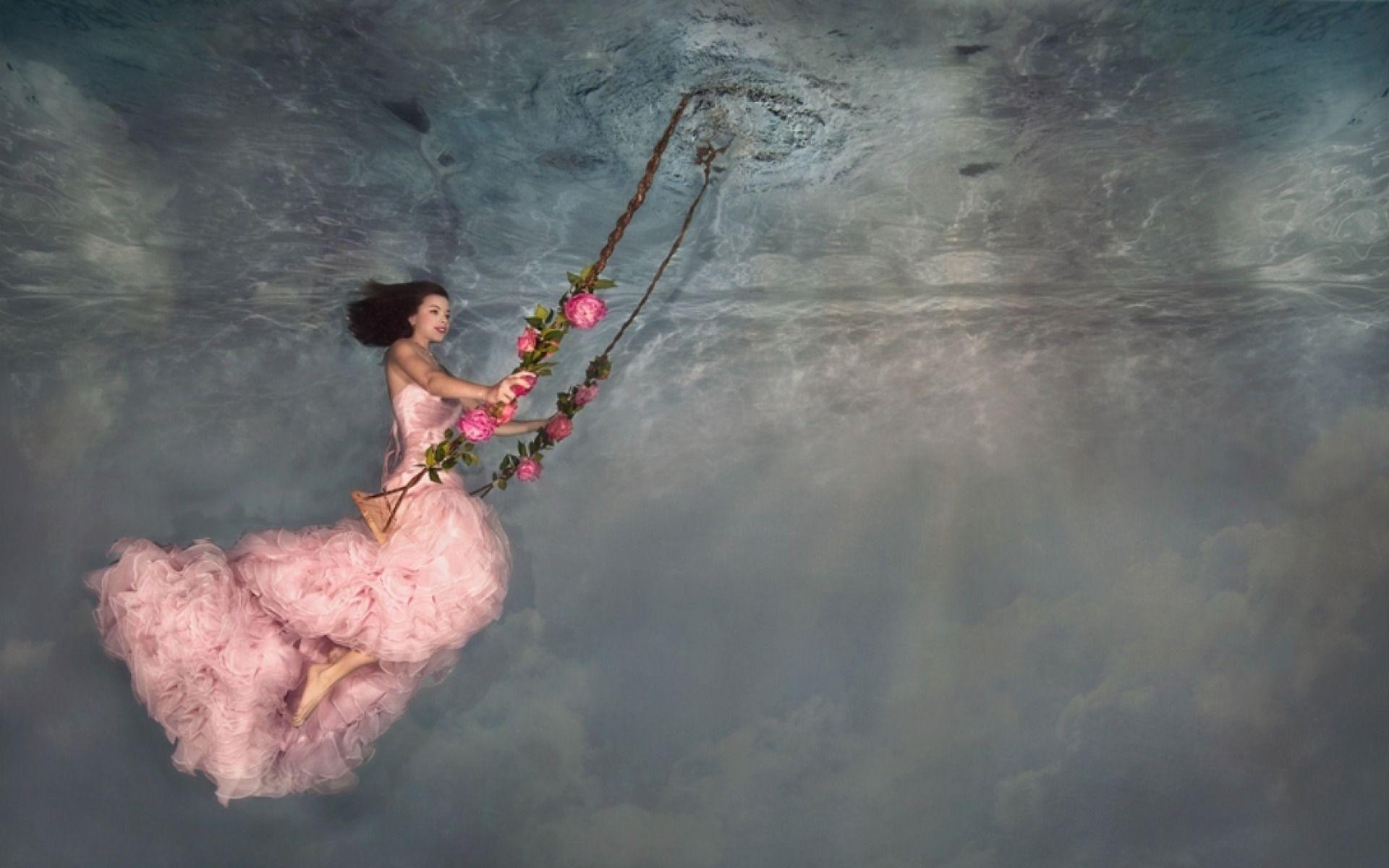 Underwater Swing wallpapers | Underwater Swing stock photos