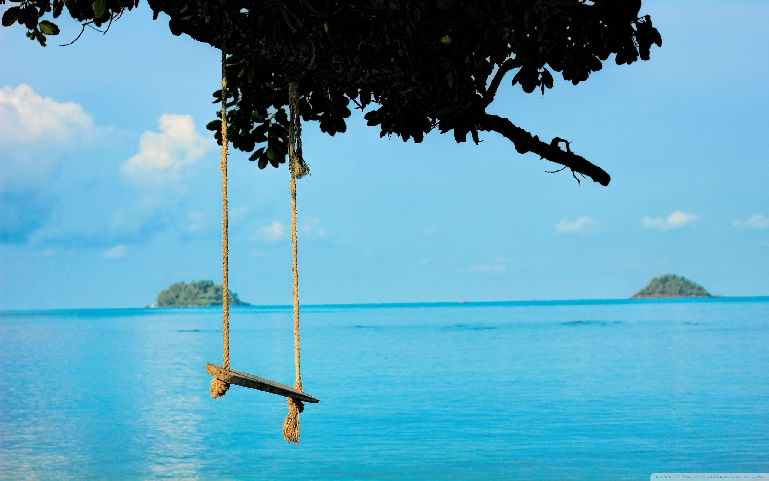 Sea Swing HD desktop wallpaper : Widescreen : High Definition ...