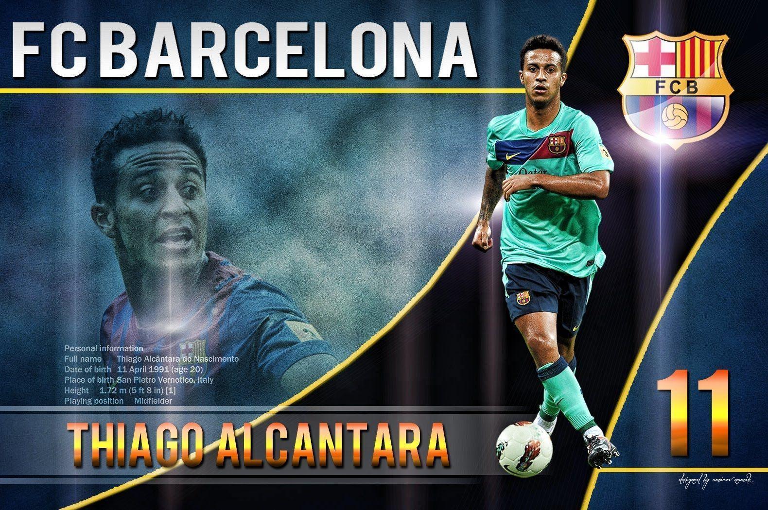 Thiago Alcantara ● Skills & Goals ● FC Barcelona - YouTube