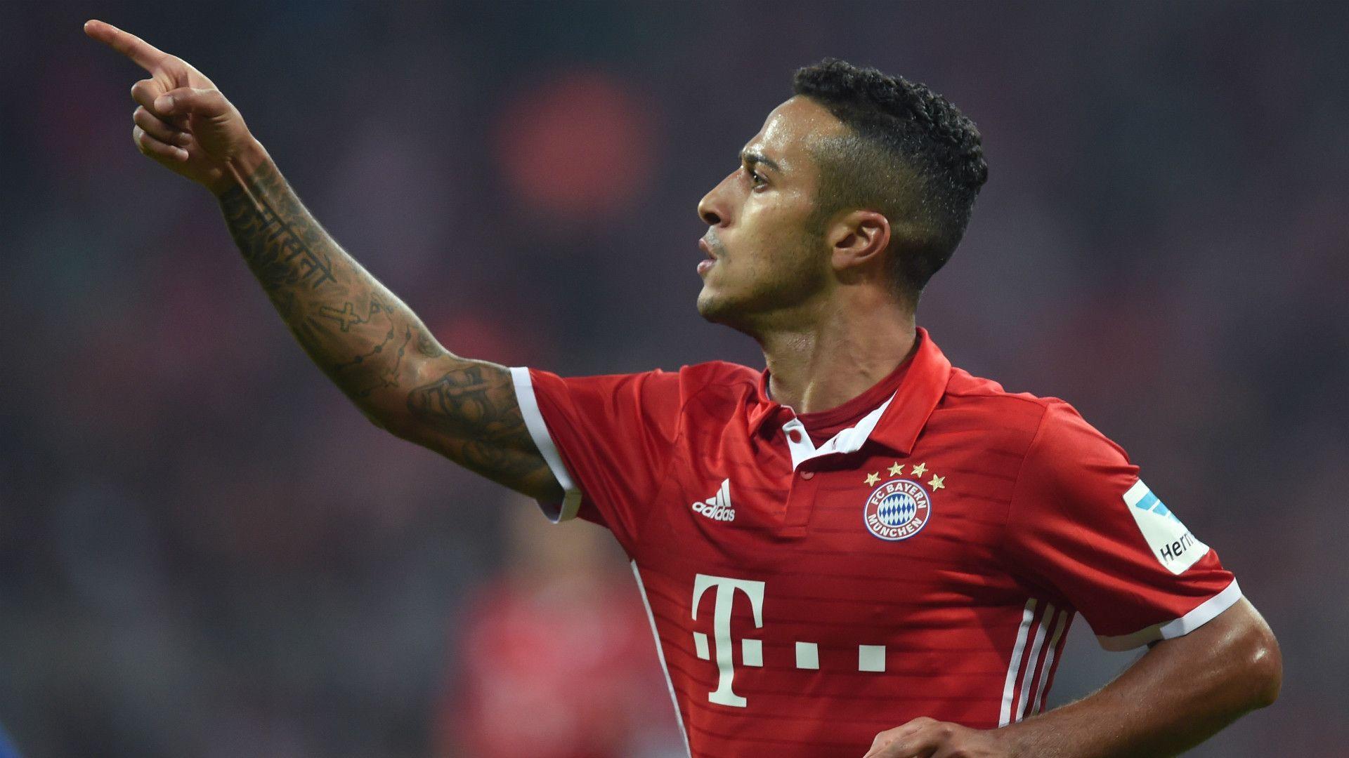 Bayern München 3 - 0 Hertha BSC Match report - 9/21/16 Bundesliga ...