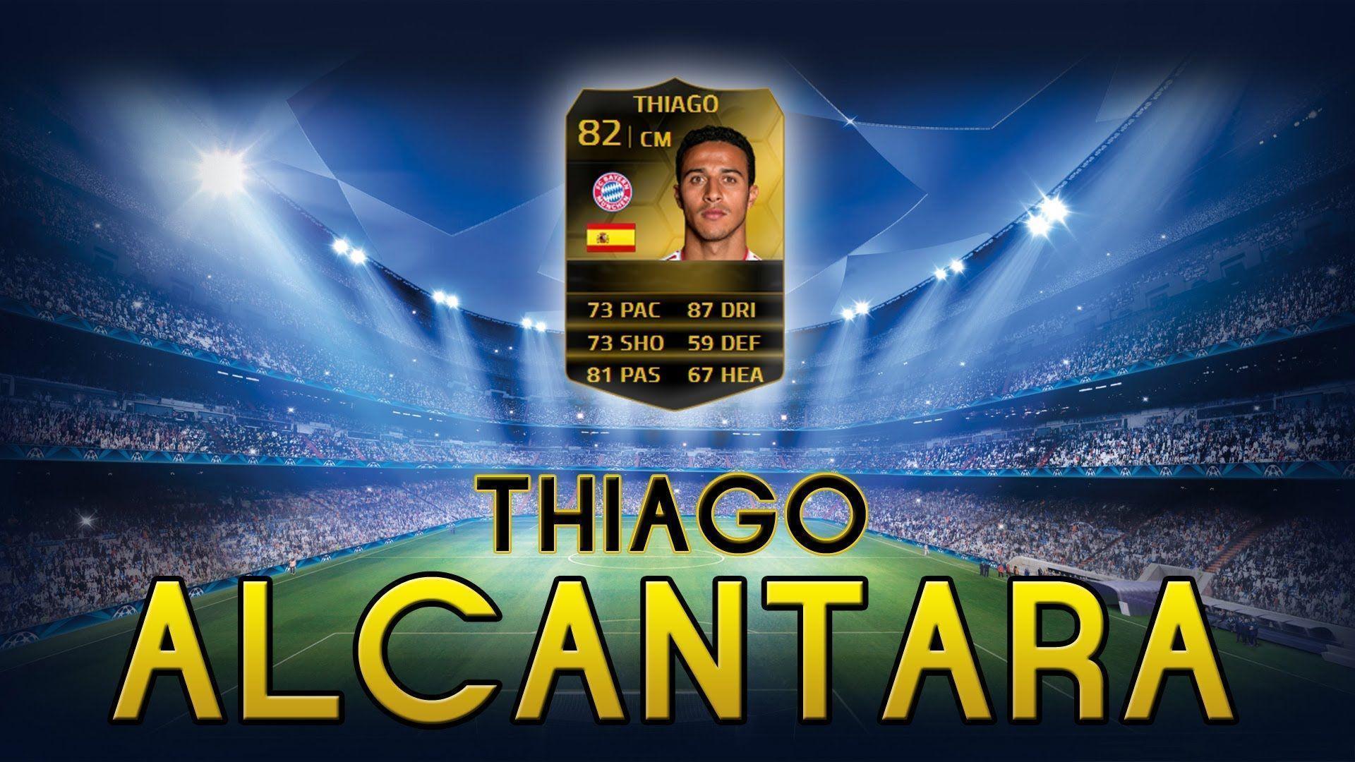 FUT14 | Player Review | Thiago Alcantara IF (MC : 82) ! [FR] - YouTube
