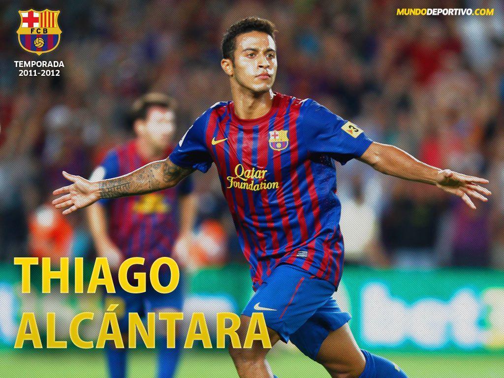 Los wallpapers de Cesc, Alexis, Messi, Thiago y Xavi