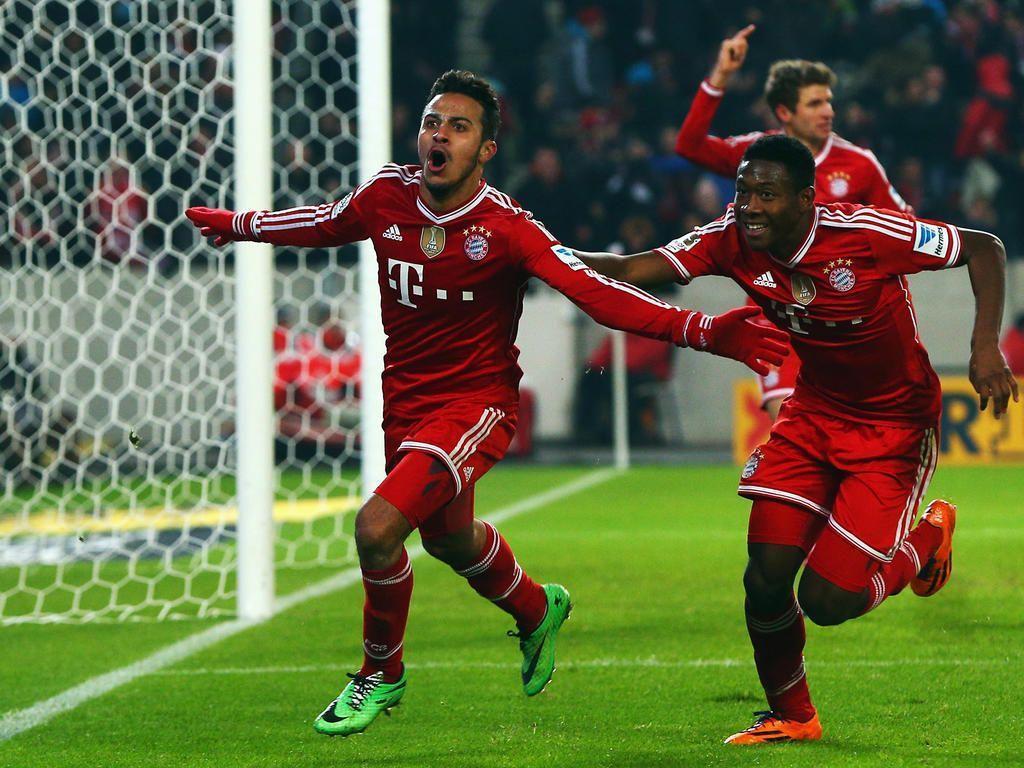 Bundesliga » News » Football: Bayern leave it late to preserve ...