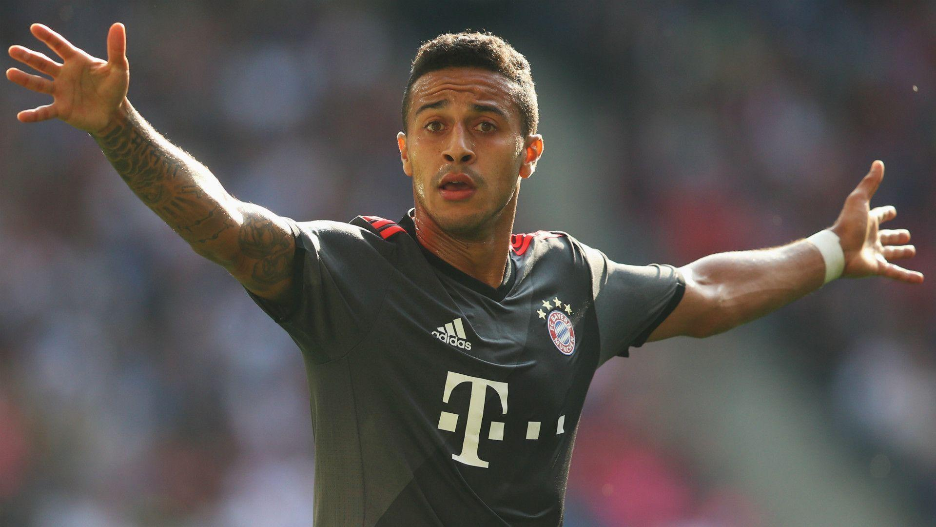 Thiago 'will stay for a long time at Bayern' - agent - Goal.com