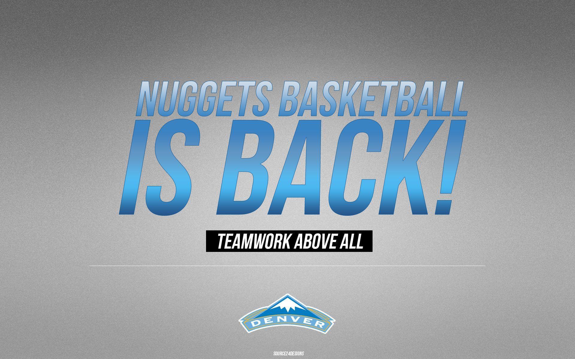 Free Denver Nuggets Backgrounds | PixelsTalk.Net