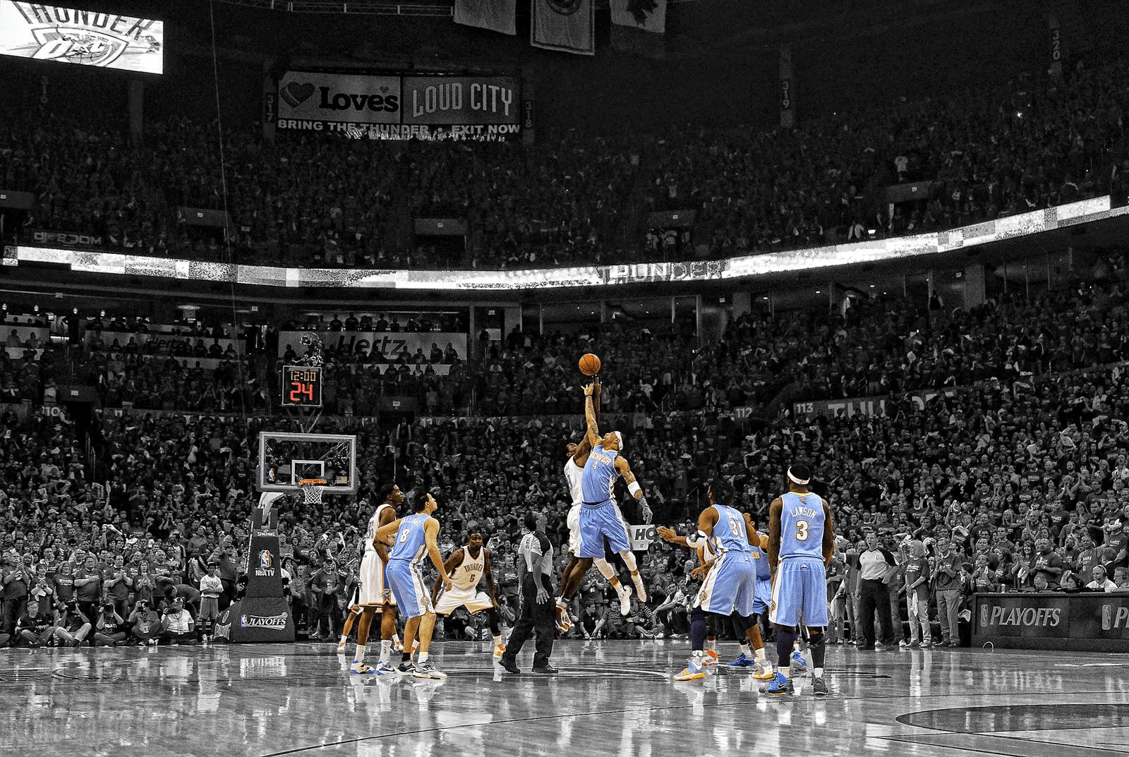 Denver Nuggets Oklahoma City Thunder Wallpaper Medium Photo by ...