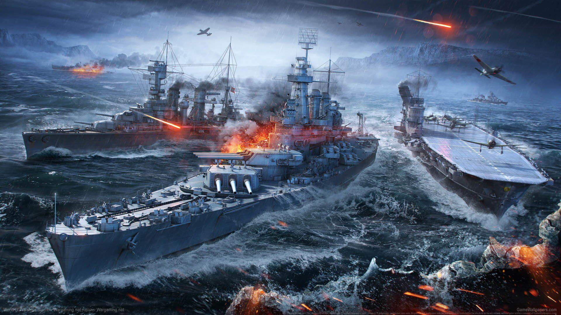 49 World of Warships HD Wallpapers | Backgrounds - Wallpaper Abyss