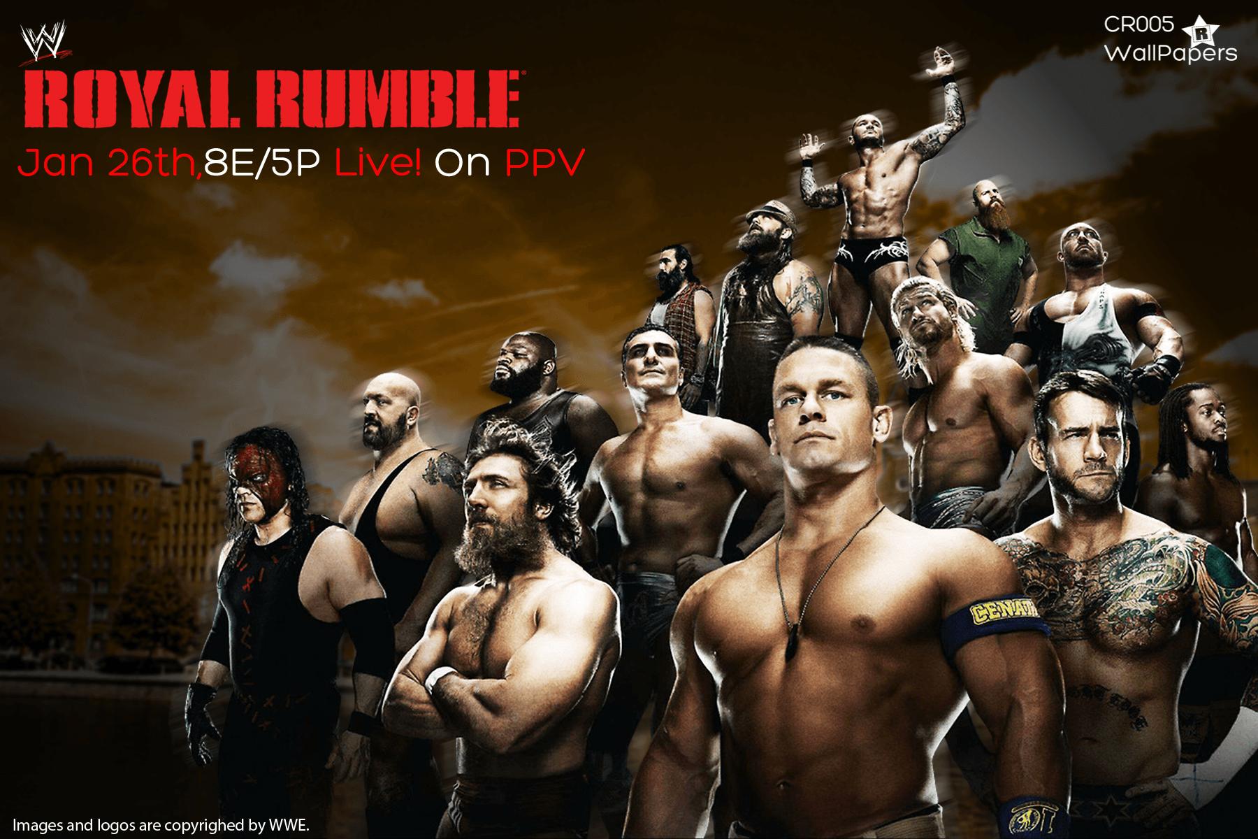 WWE Royal Rumble 2014 Wallpaper. by ChrisRobert005 on DeviantArt