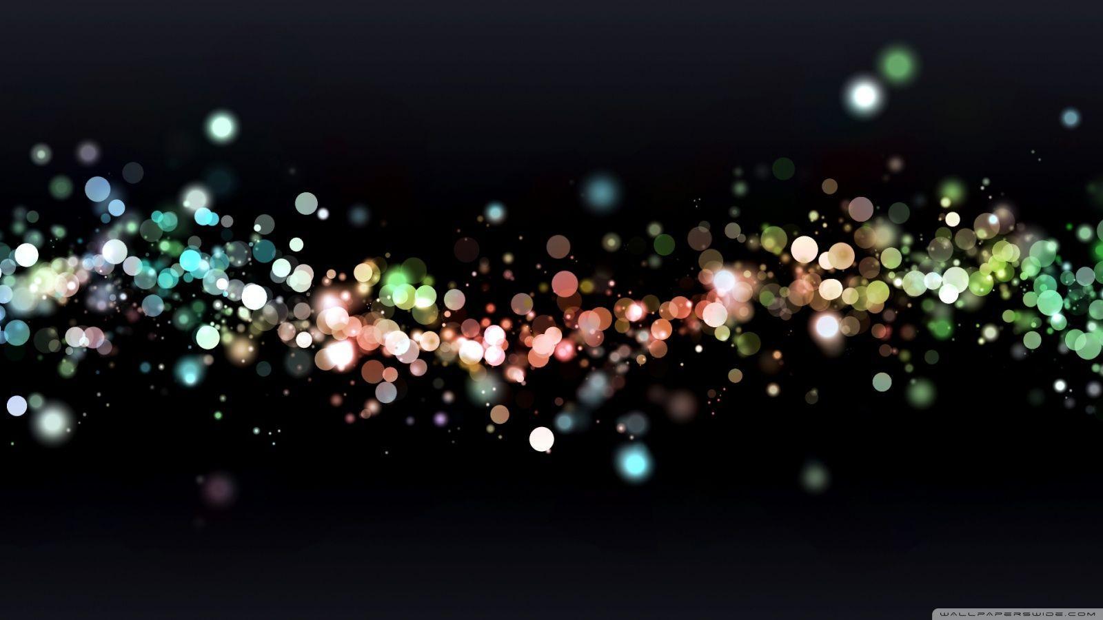 Colored Particles HD desktop wallpaper : Widescreen : High ...