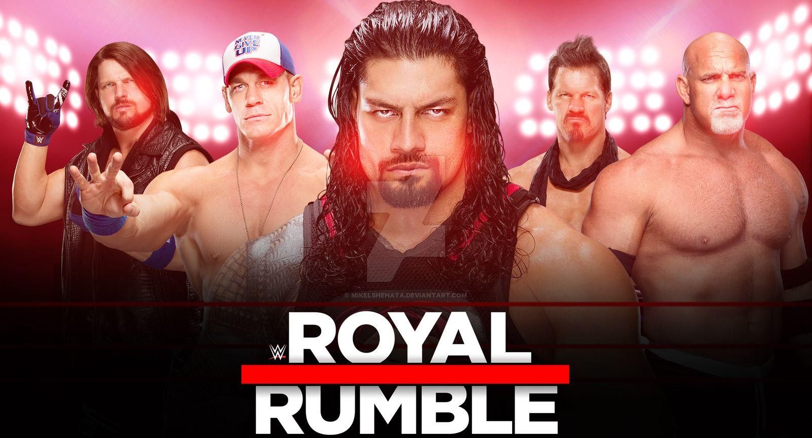 WWE Royal Rumble 2017 New Wallpaper by mikelshehata on DeviantArt
