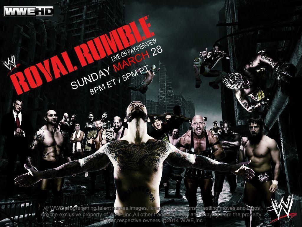 Wwe Royal Rumble 2014 Wallpaper 8512 | BITNOTE