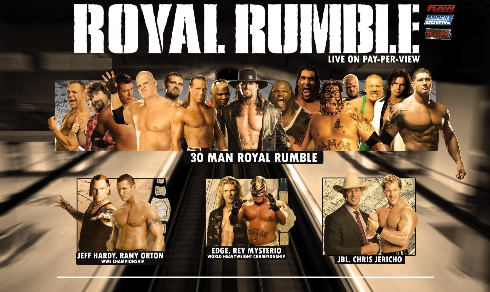 Wallpaper of Royal Rumble - WWE Superstars, WWE Wallpapers, WWE PPV's