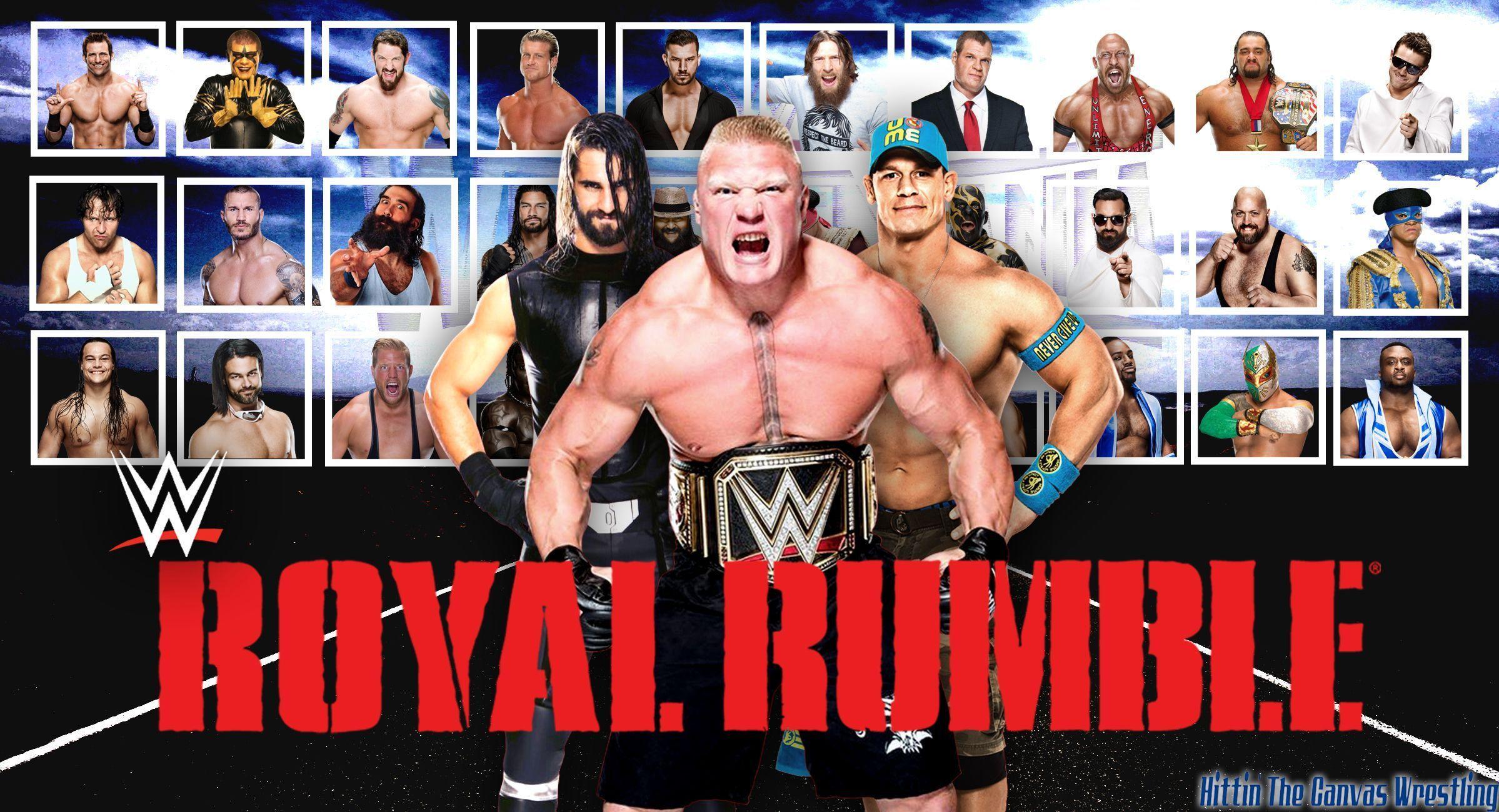 2015 WWE Royal Rumble Wallpaper | Hittin' The Canvas