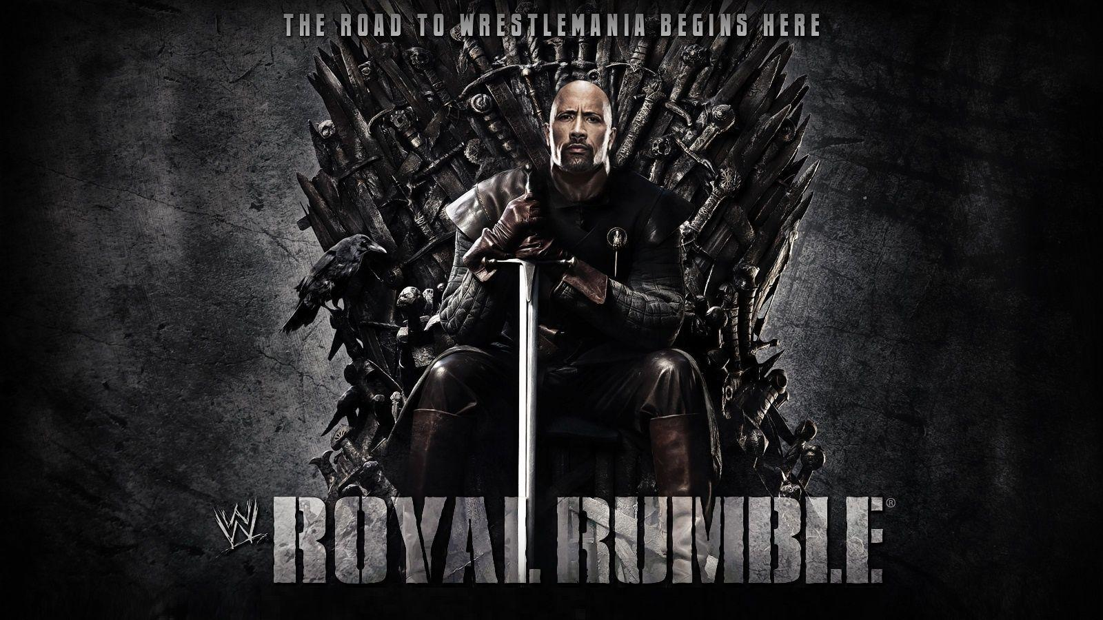 WWE Royal Rumble 2013 The Rock Wallpapers - 1600x900 - 539690