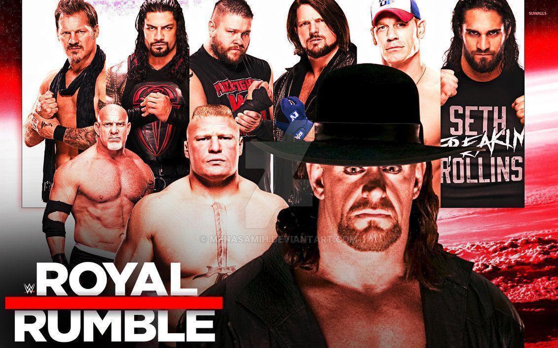 WWE Royal Rumble 2017 Wallpaper! by menasamih on DeviantArt