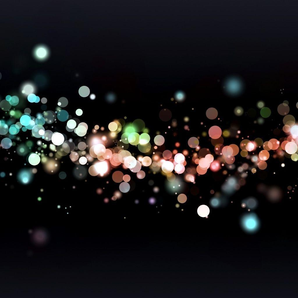 Colored Particles iPad Wallpaper Download | iPhone Wallpapers ...