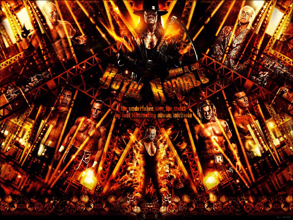 WWE Royal Rumble 2007 Wallpaper by AliTaKeR on DeviantArt