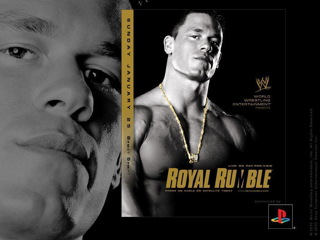 WWE ROYAL RUMBLE 2004 WALLPAPERS