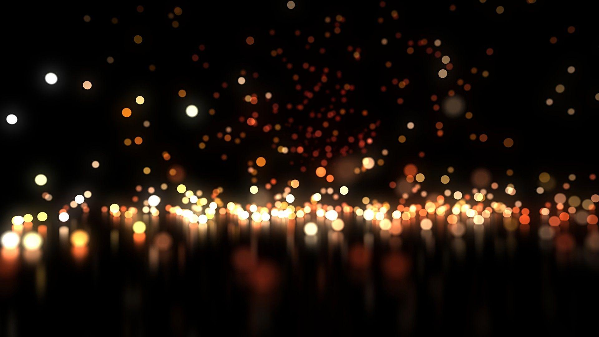 Christmas Glow Particles 1920x1080 (1080p) - Wallpaper - Free ...