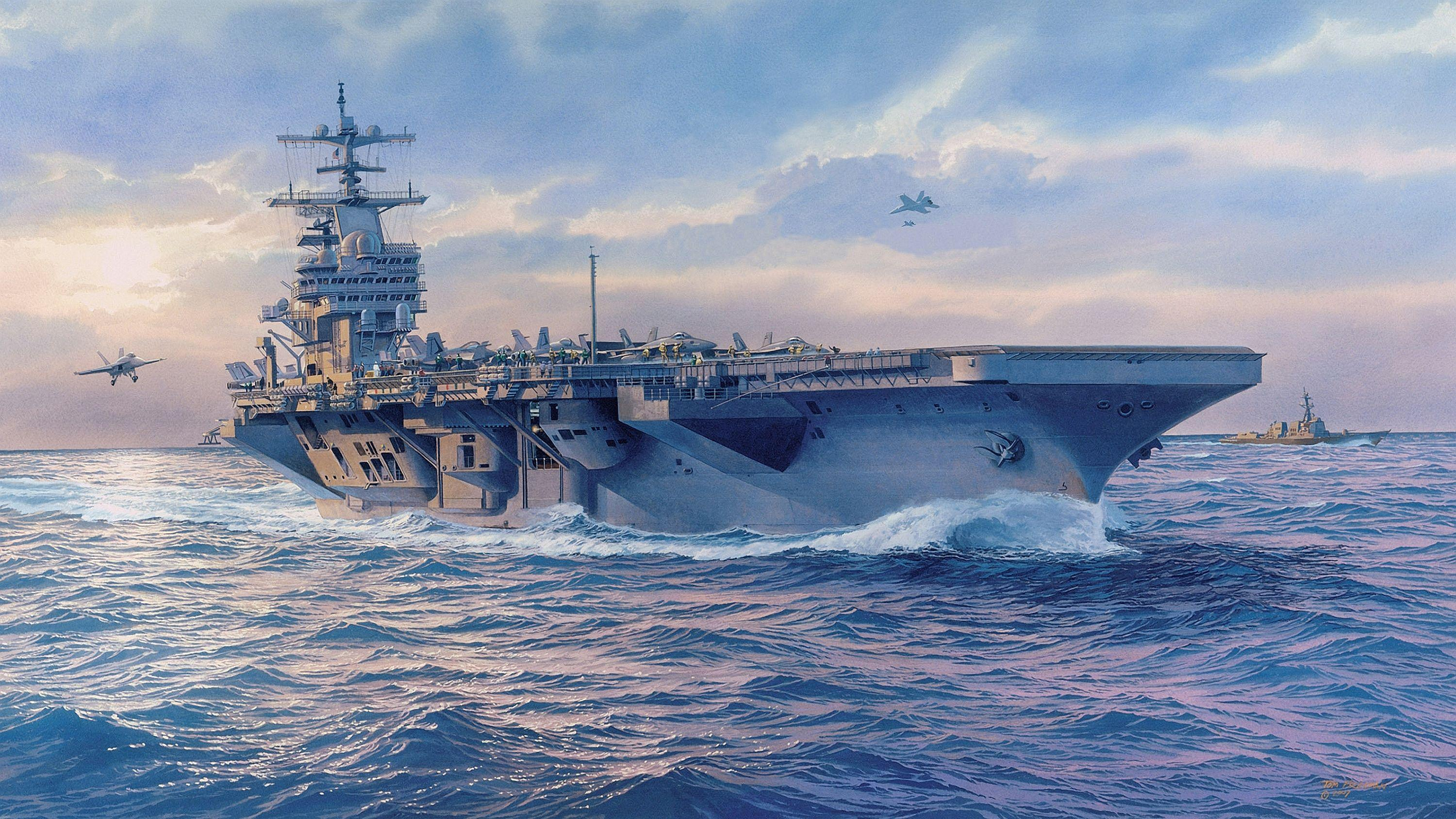292 Aircraft Carrier HD Wallpapers