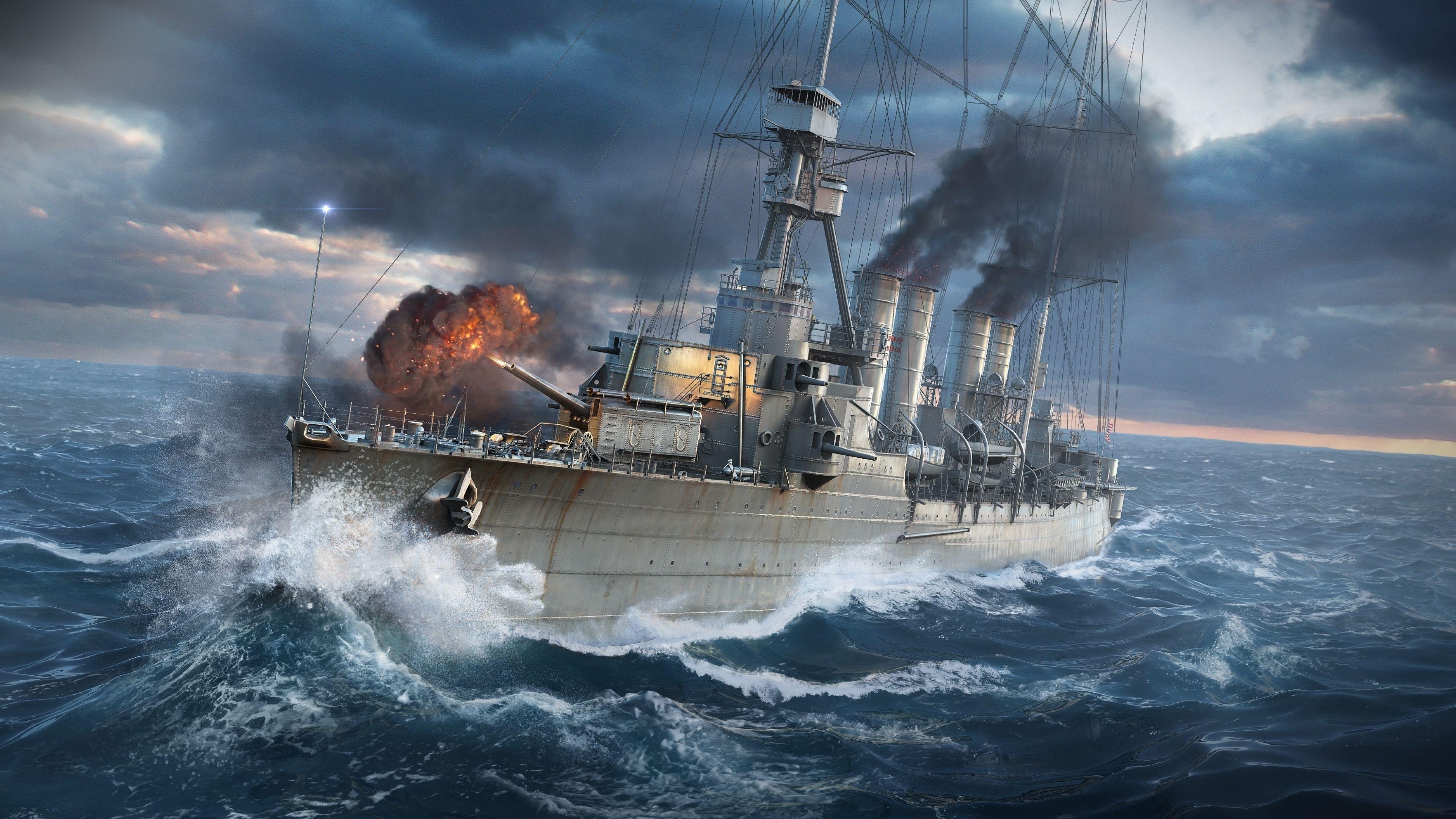 World Of Warships Wallpaper: Warships Wallpapers