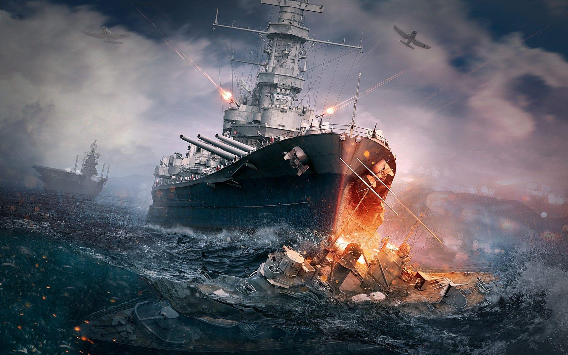 World Of Warships Wallpapers Page 1