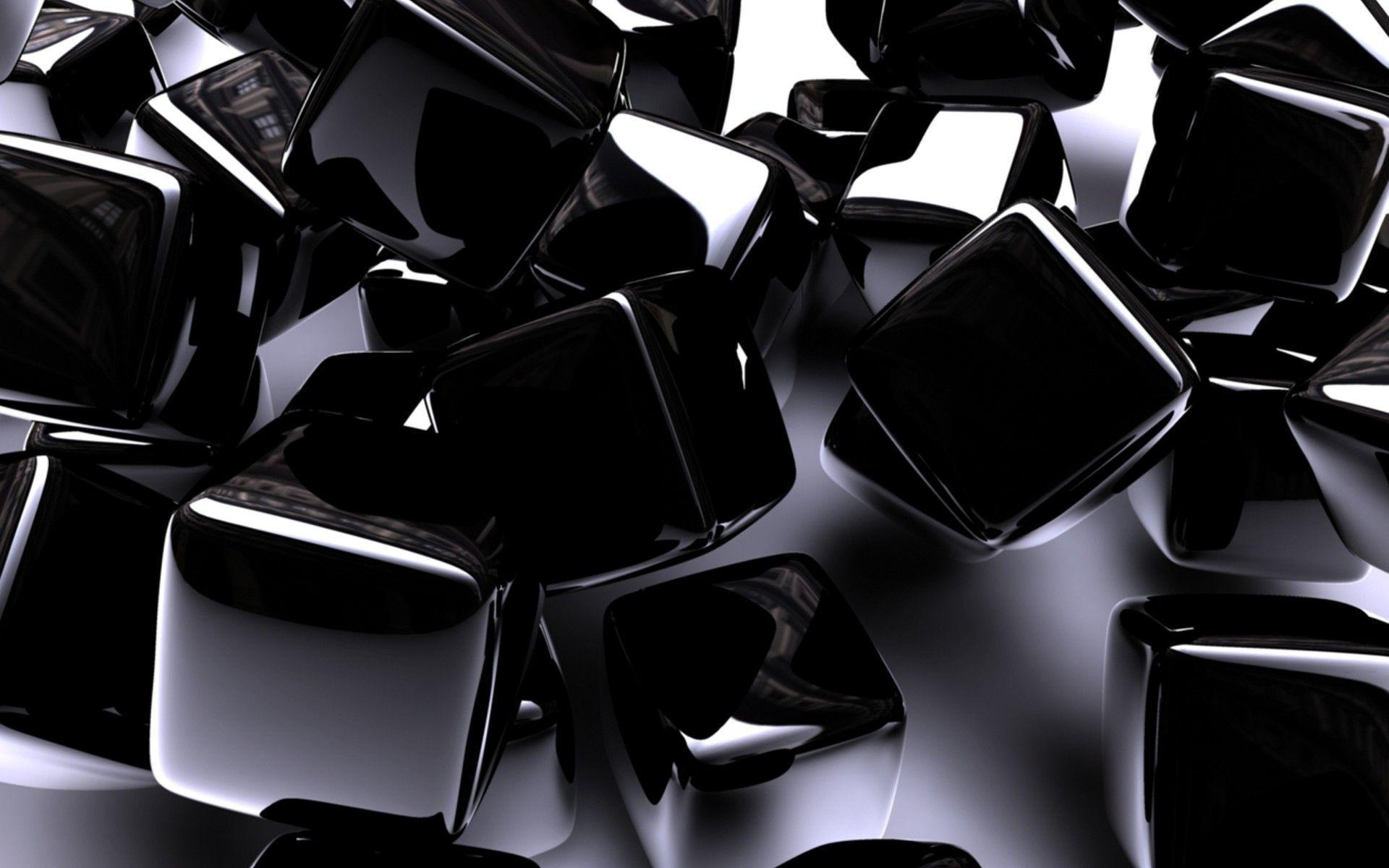 Black Sapphire Cubes Wallpapers HD / Desktop and Mobile Backgrounds
