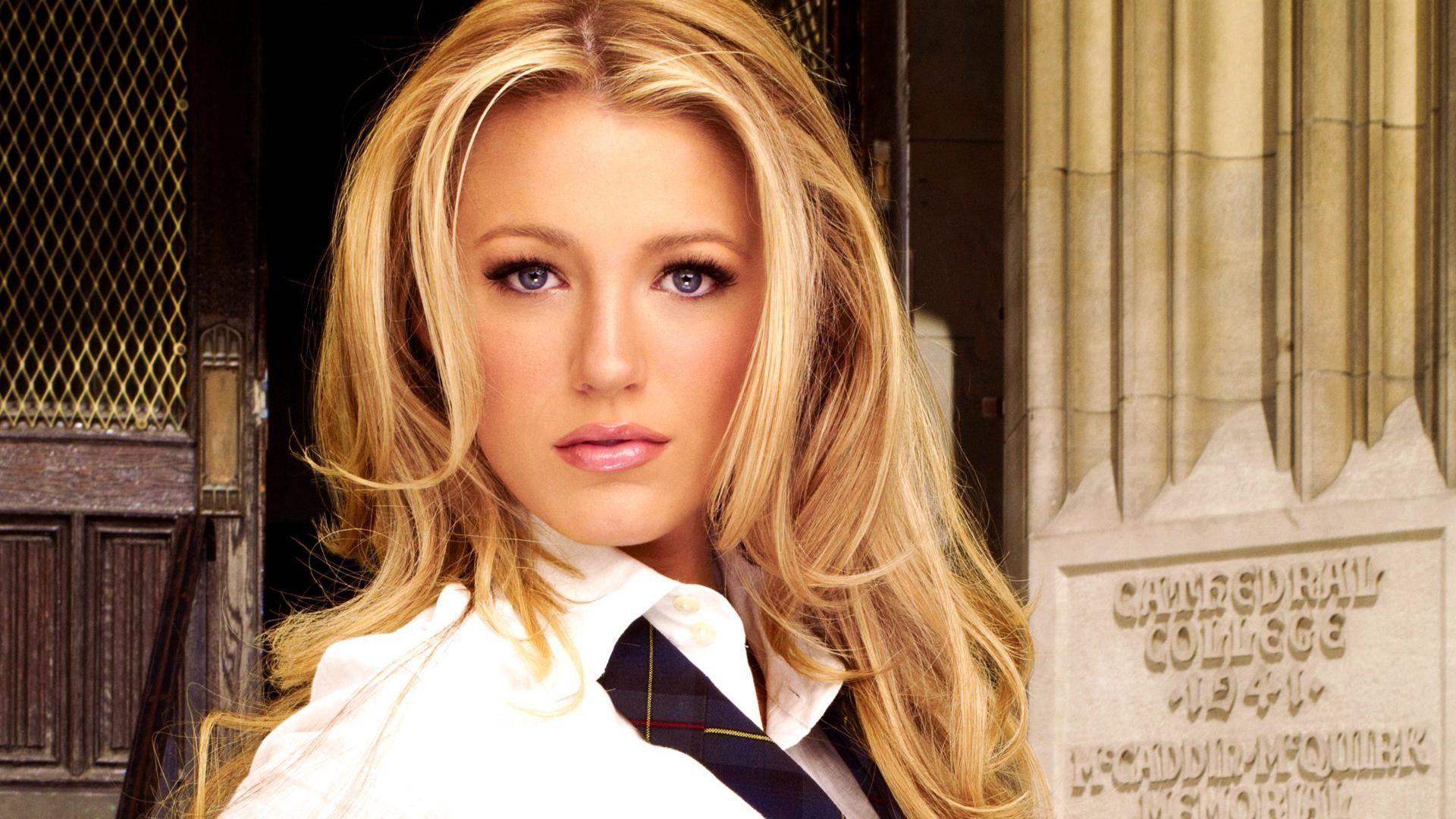 Beautiful Blake Lively American Film Actress Model Female ...