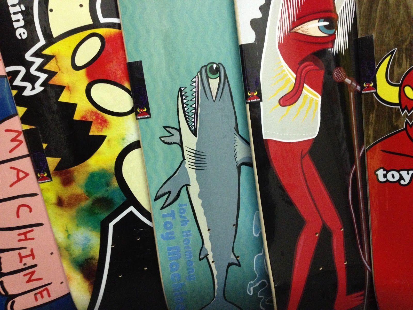Prime Skate Shop: New in from Toy Machine